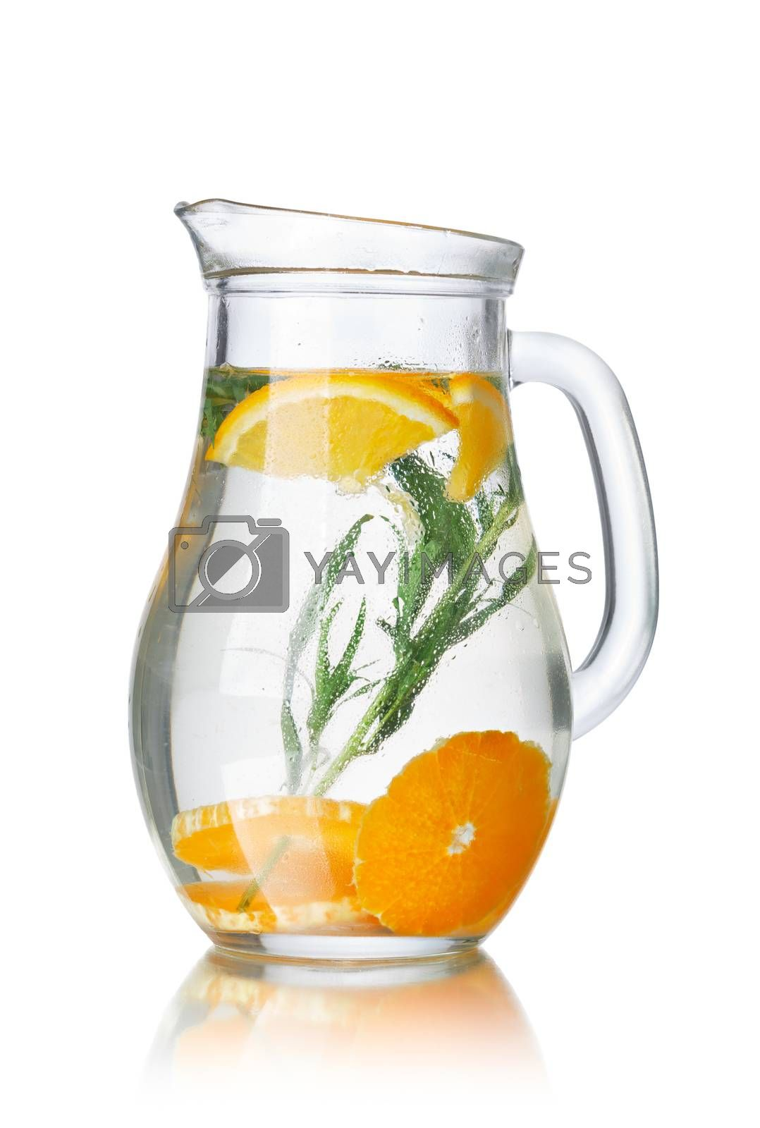 Detox water with tarragon by maxsol