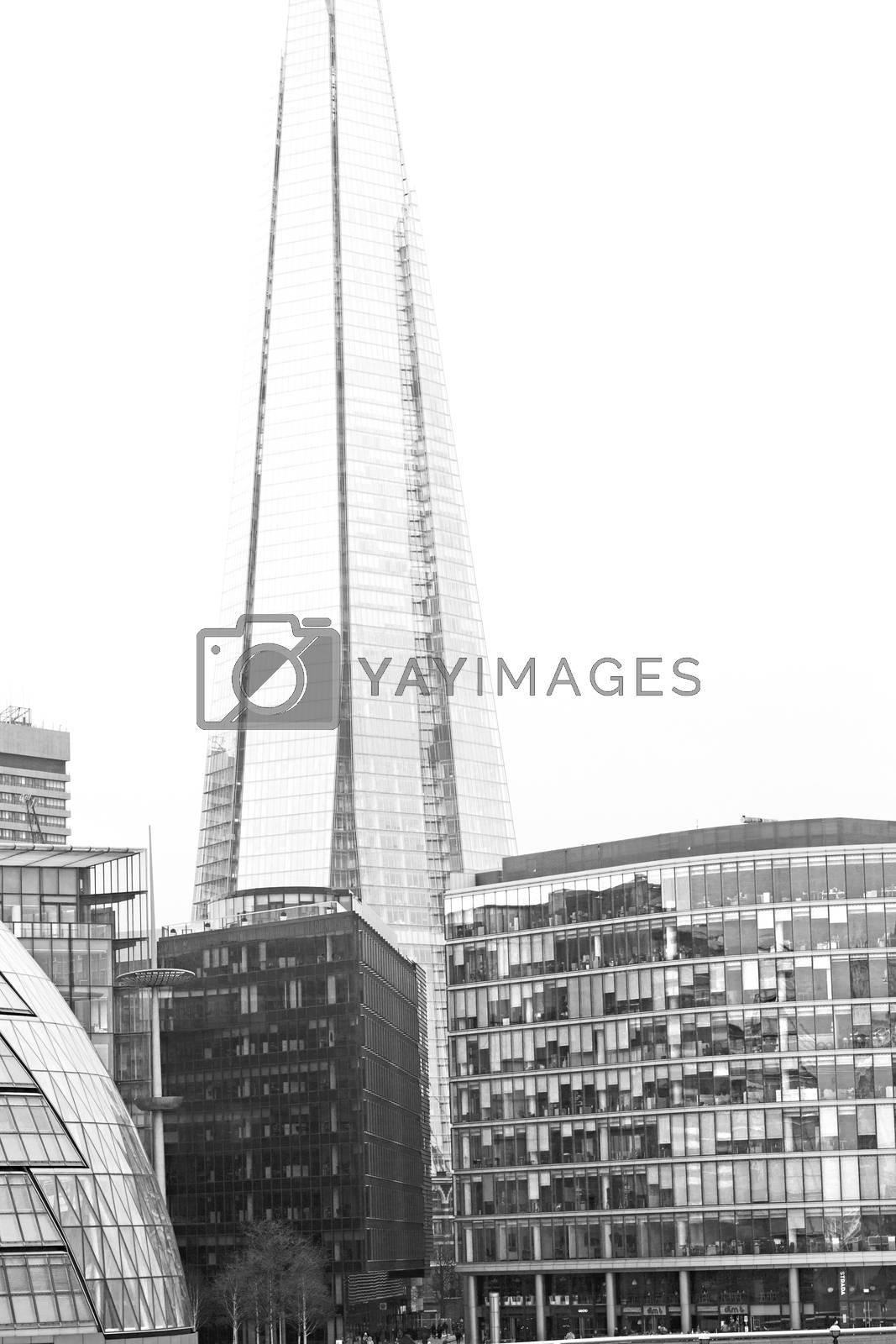 new     building in london skyscraper      financial district an by lkpro
