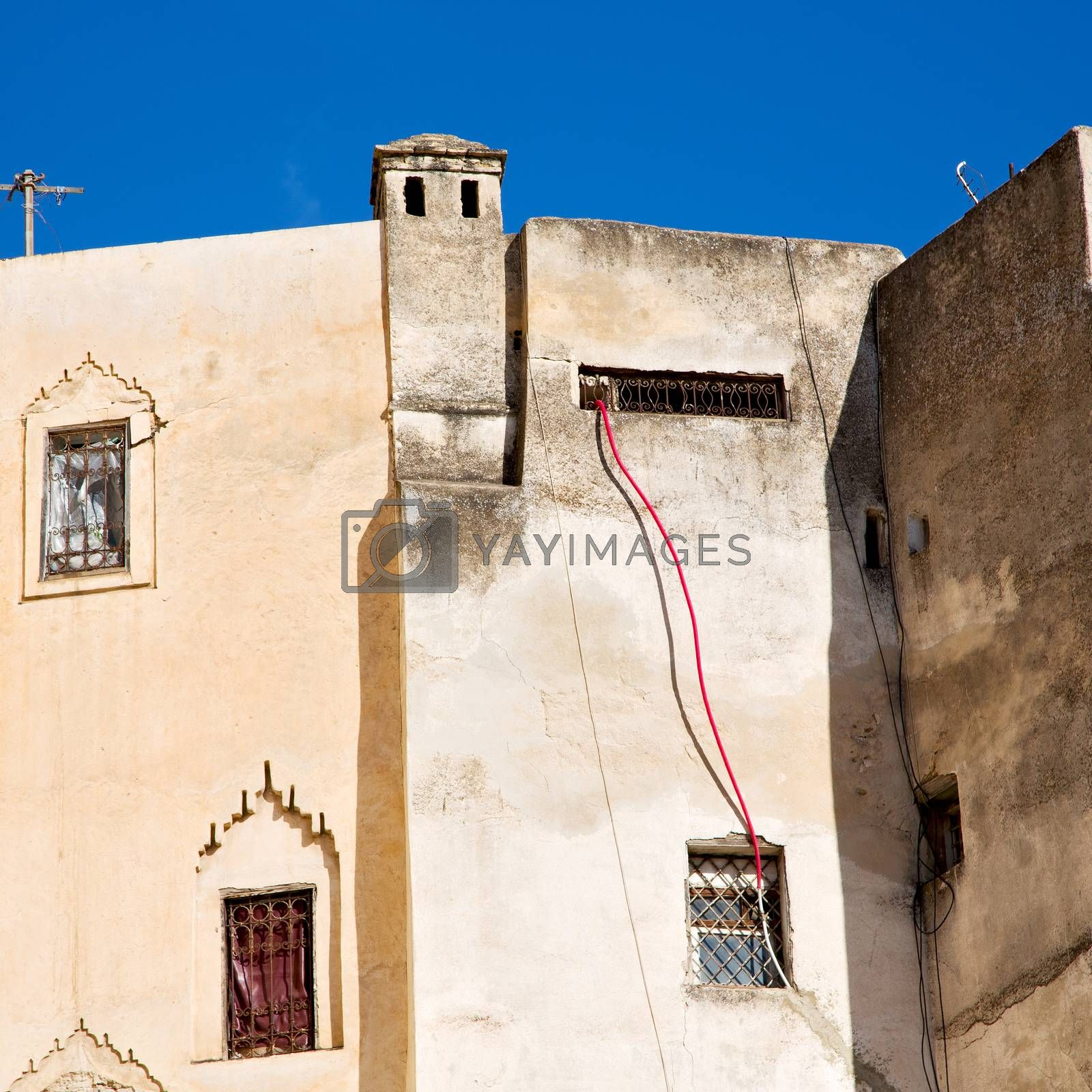 Royalty free image of morocco land construction and history in the sky by lkpro