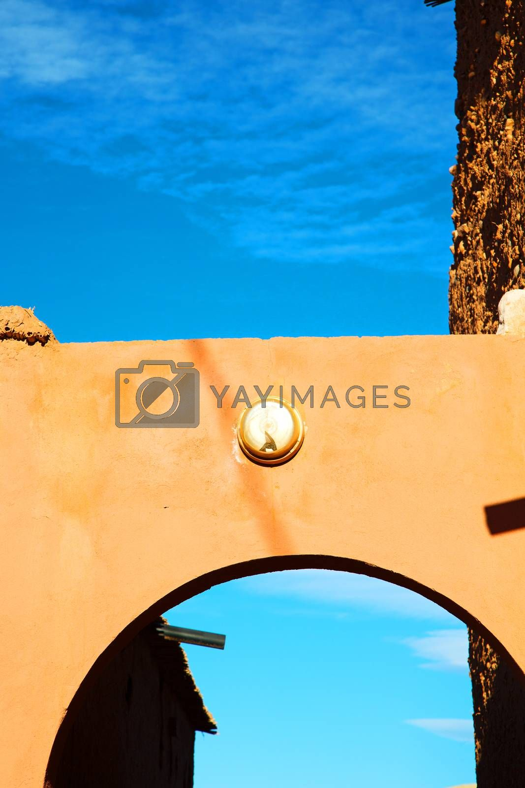 Royalty free image of moroccan old wall and   antique city by lkpro
