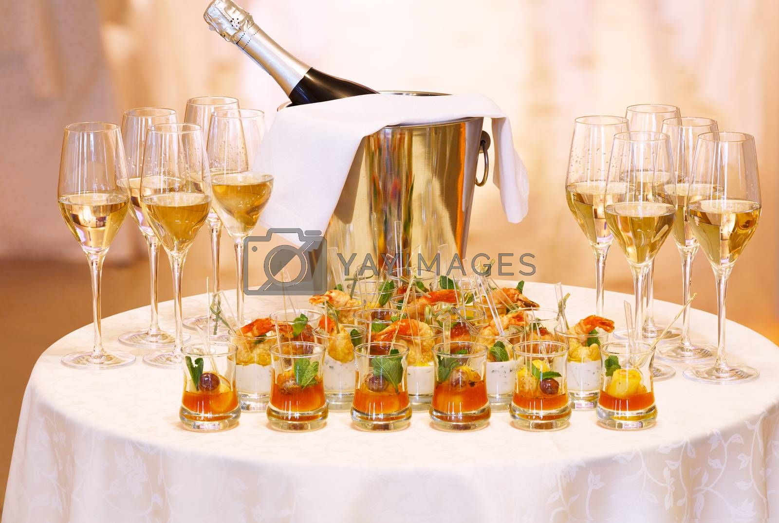 Royalty free image of Festive table by maxsol