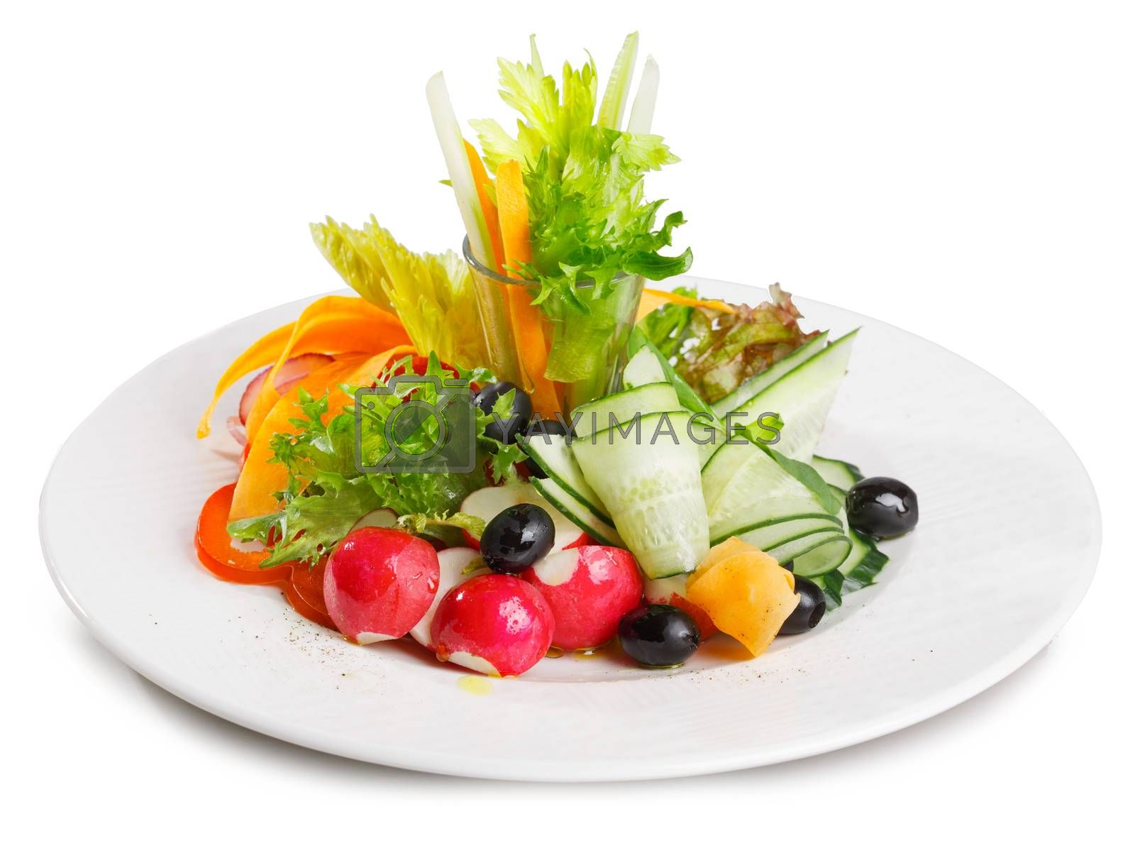 Royalty free image of Vegetable platter by maxsol