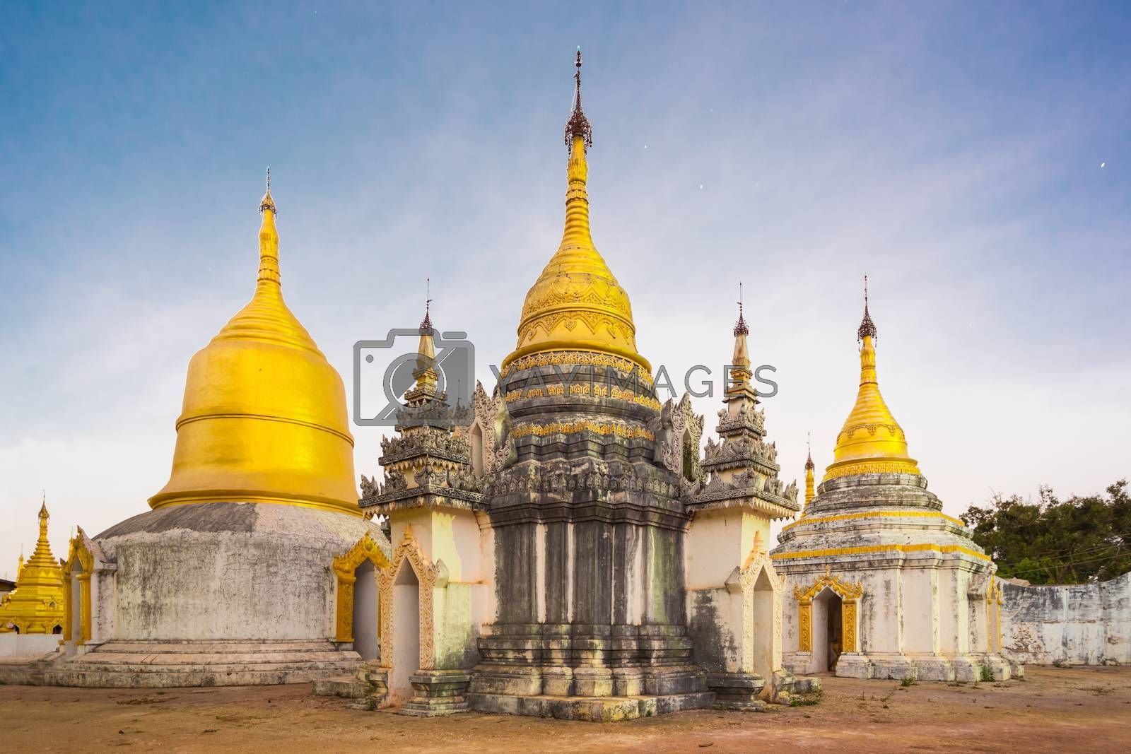 Royalty free image of Ancient buddhist temple, Pindaya, Burma, Myanmar. by kasto