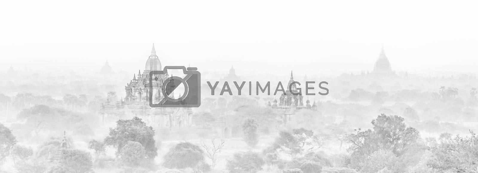 Royalty free image of Temples of Bagan, Burma, Myanmar, Asia. by kasto
