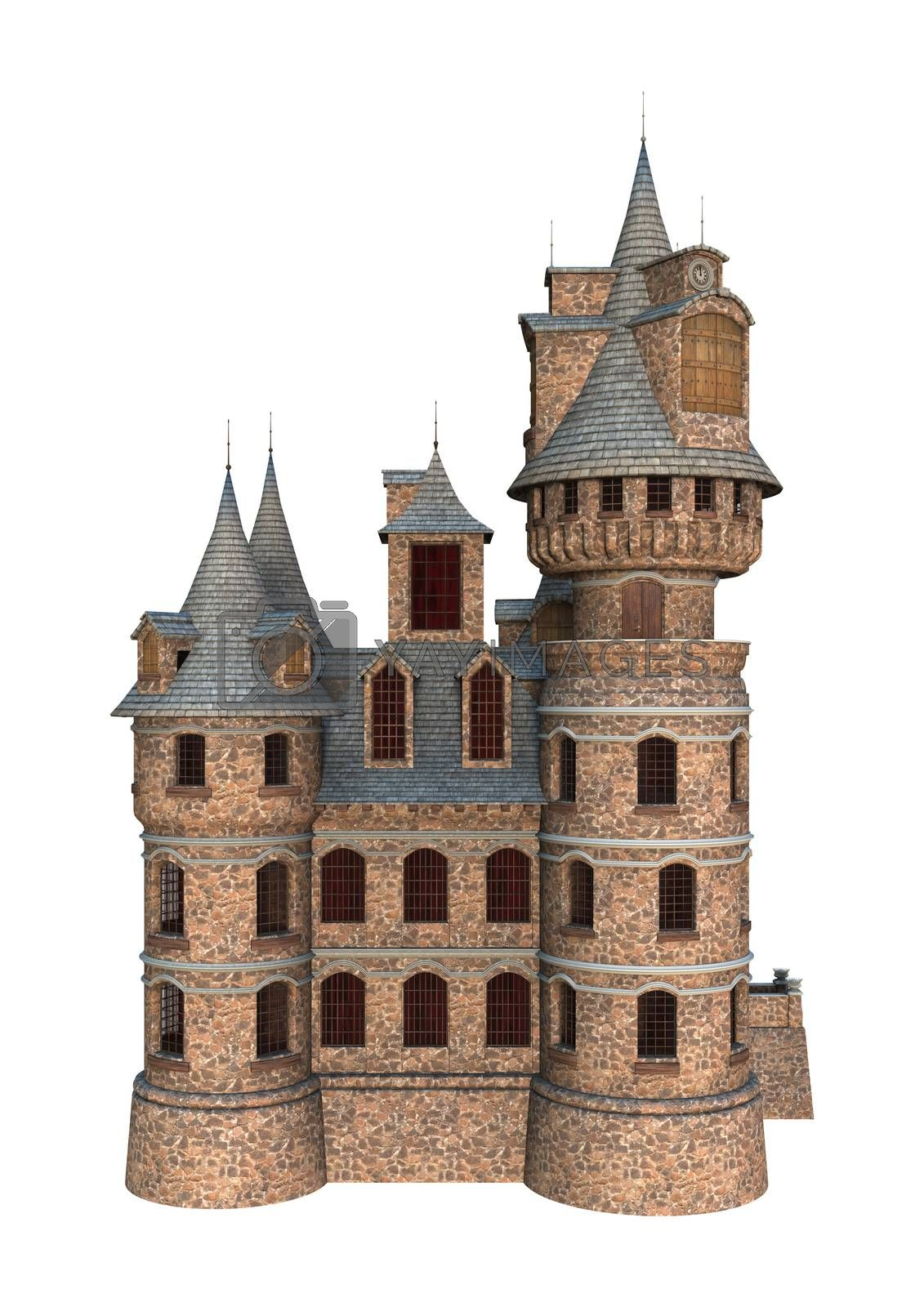 Royalty free image of Fairytale Castle by Vac