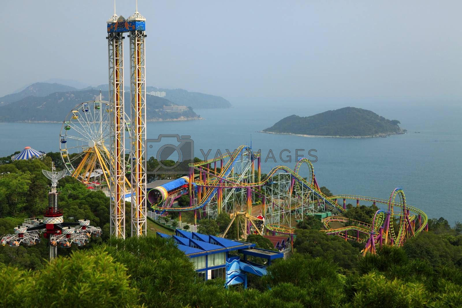 Royalty free image of Ocean Park Hong Kong by friday