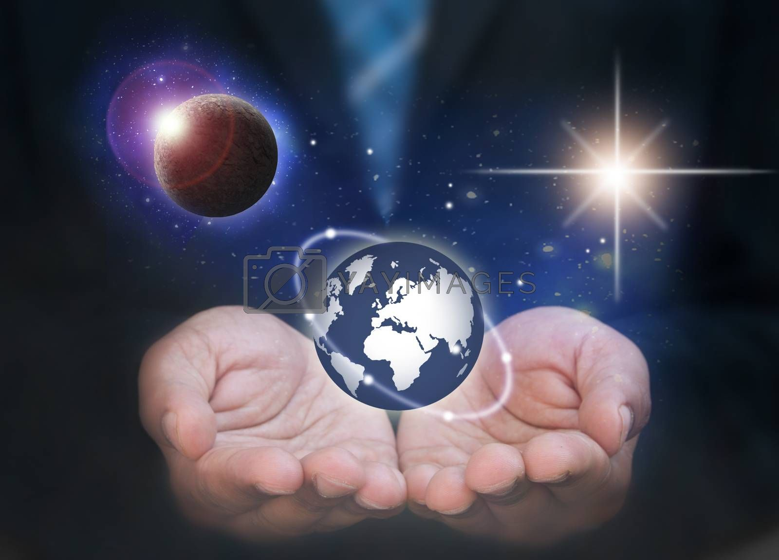 Royalty free image of Global business  by unikpix