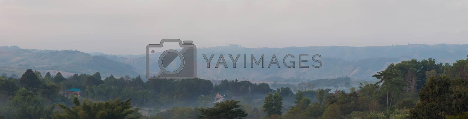 Royalty free image of Mountains panorama  by kritsada1992