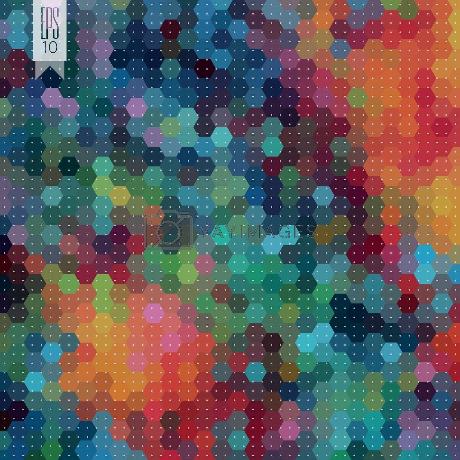 Hexagon background by kartyl