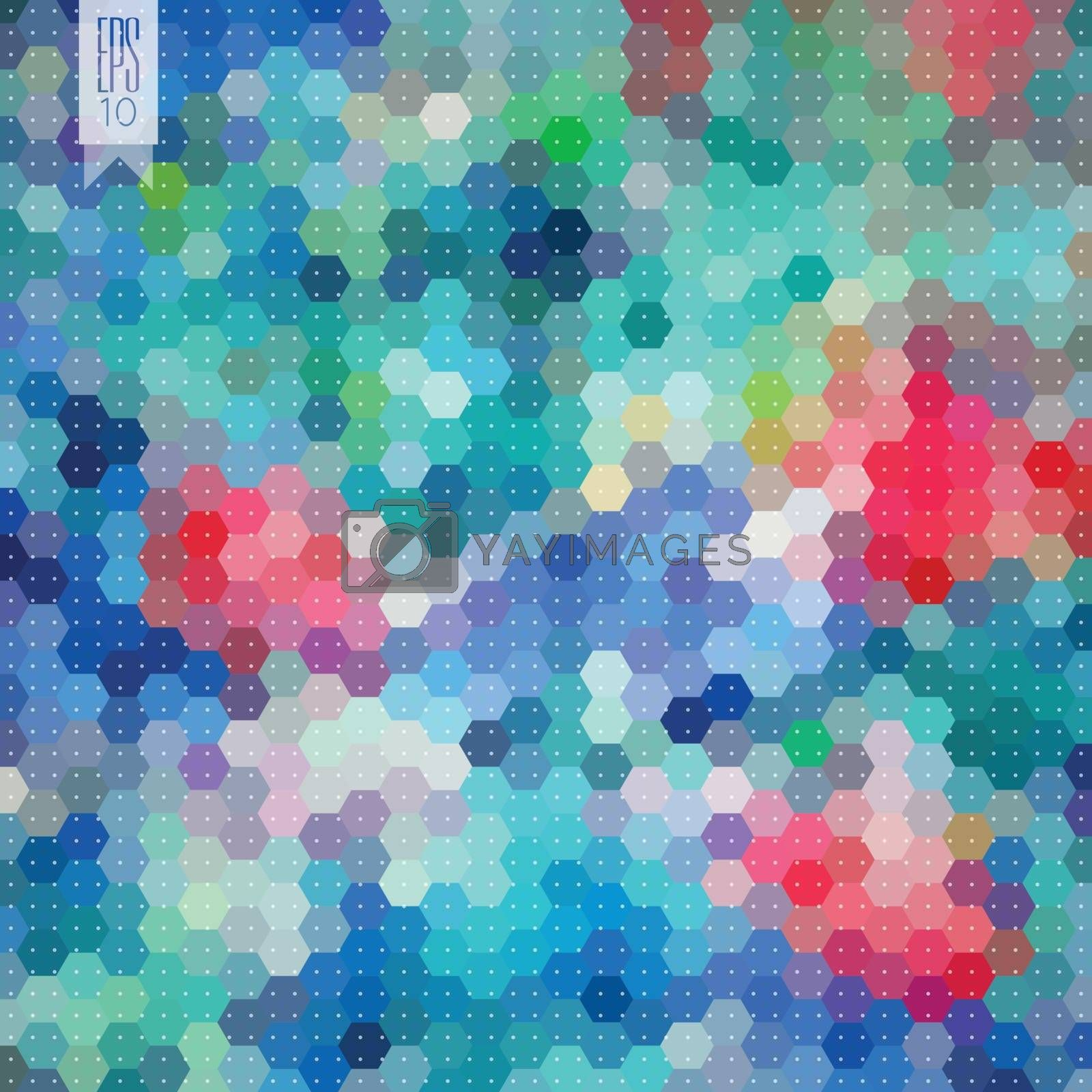 Hexagon background by kartyl