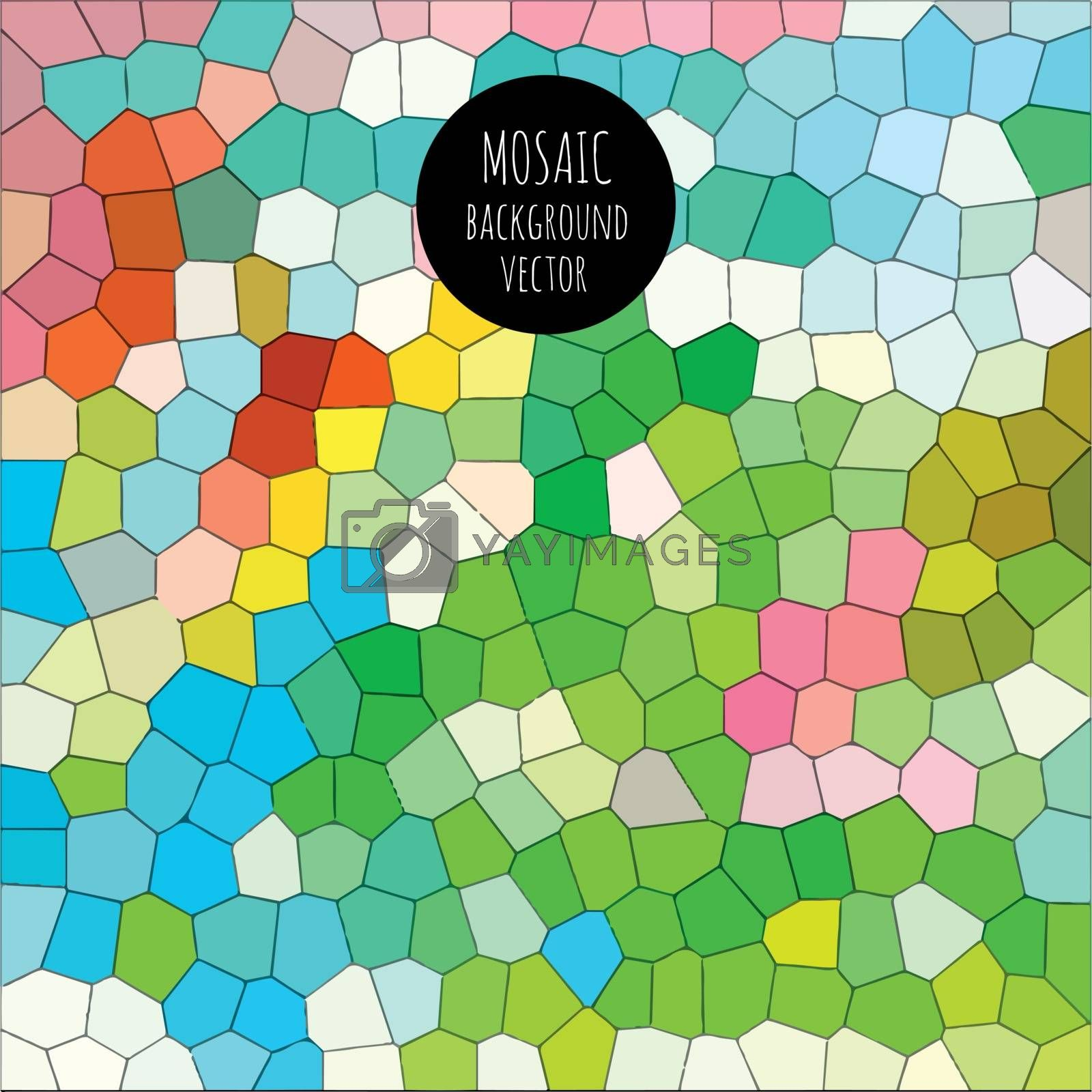 Mosaic background by kartyl