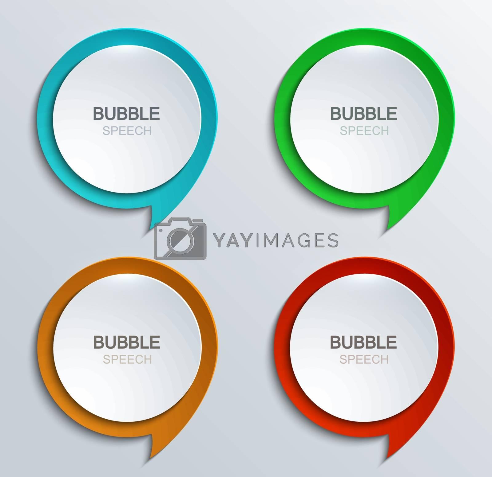 Speech bubbles by kartyl