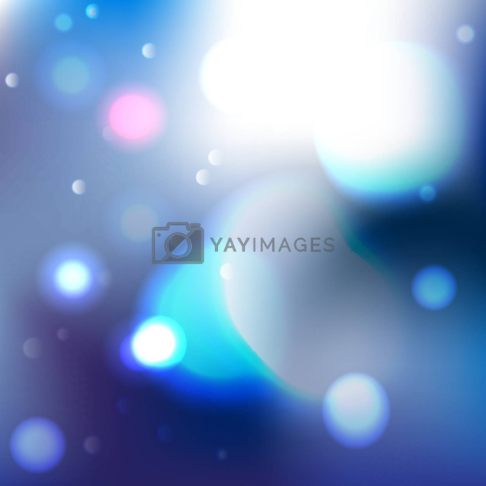 Vector with colorful abstract background.