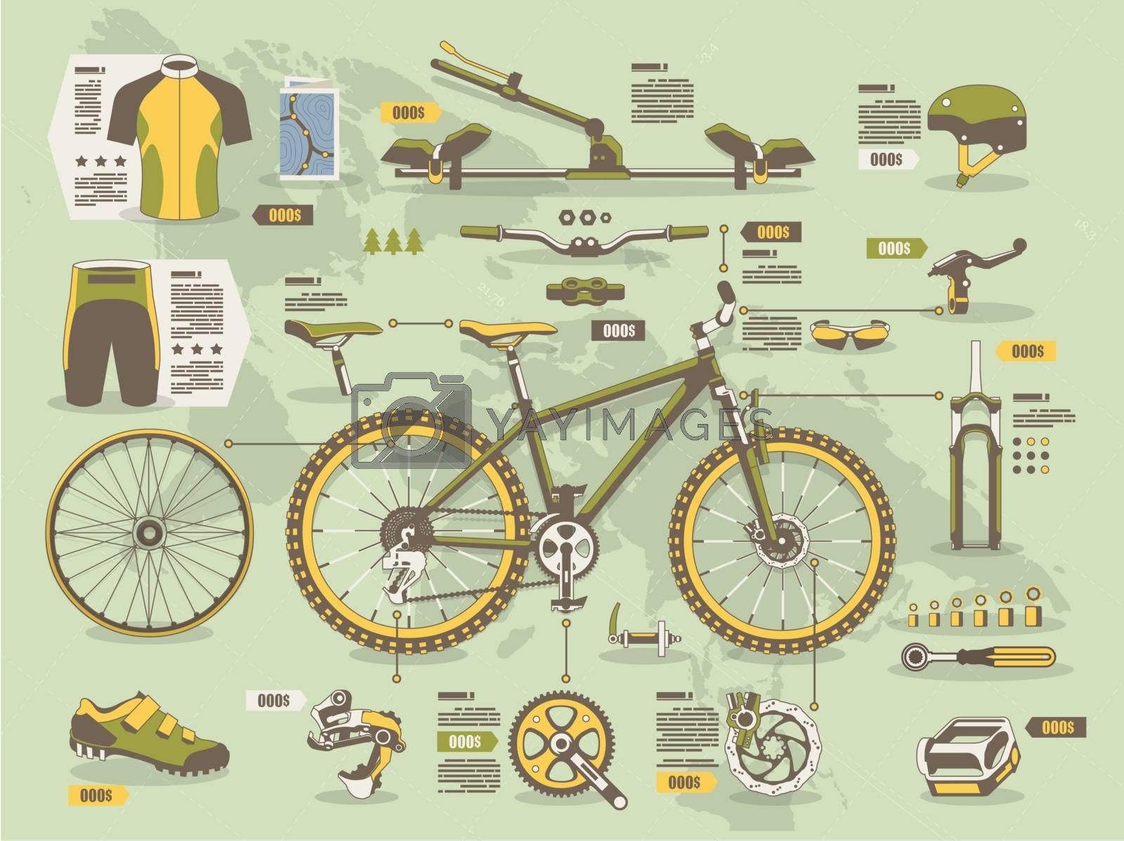 Bicycle elements by kartyl