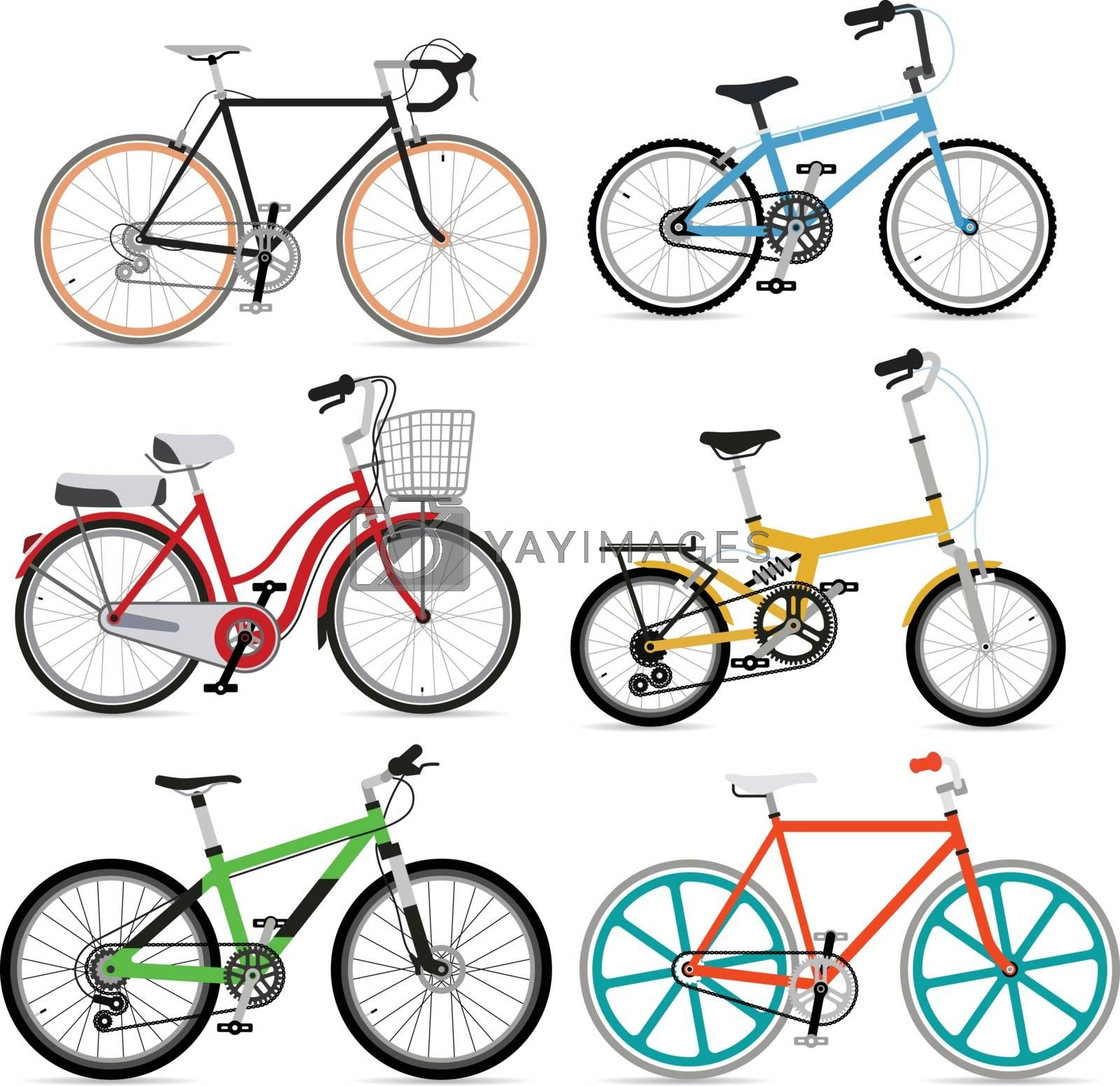 Bicycles by kartyl