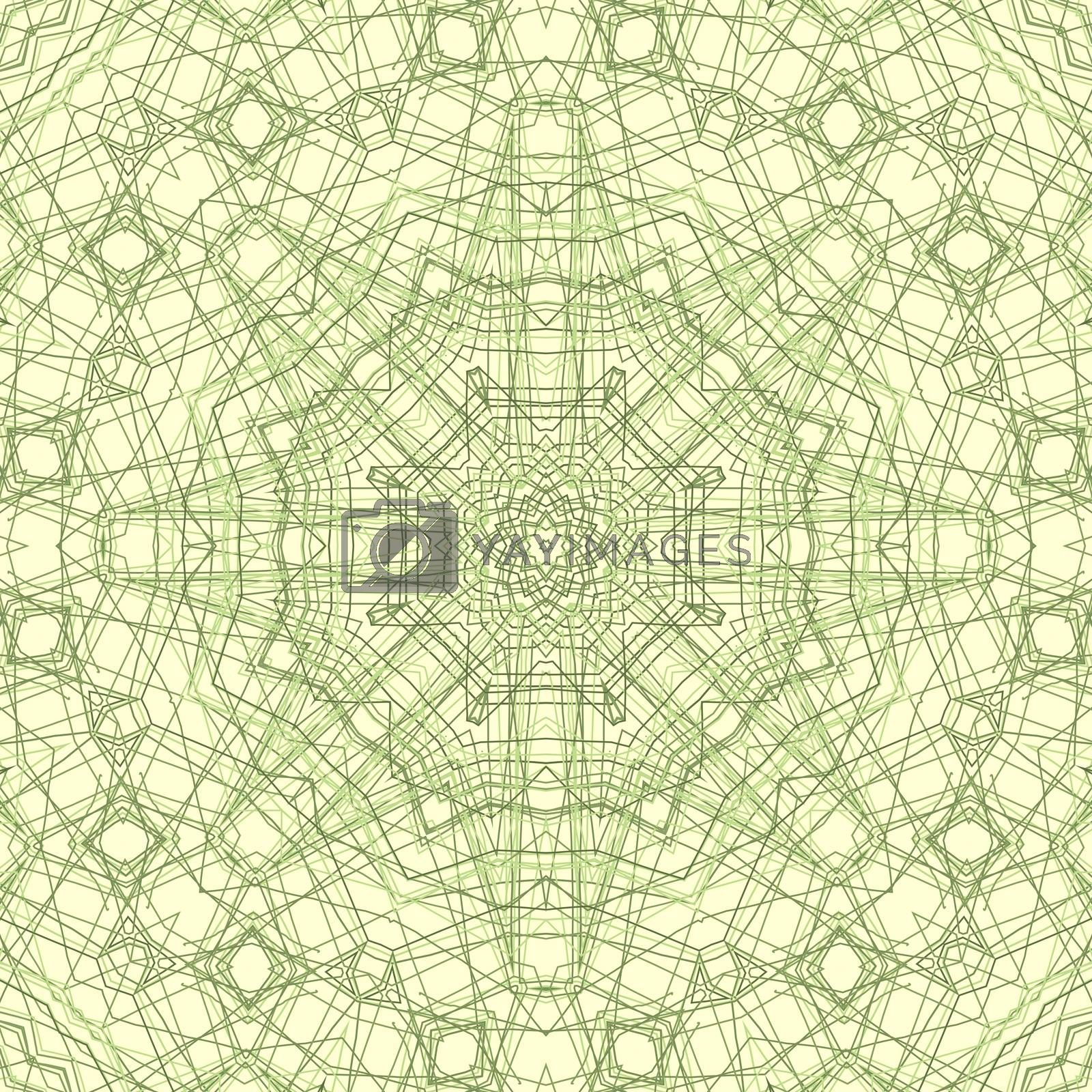 Abstract background with lines concentric pattern