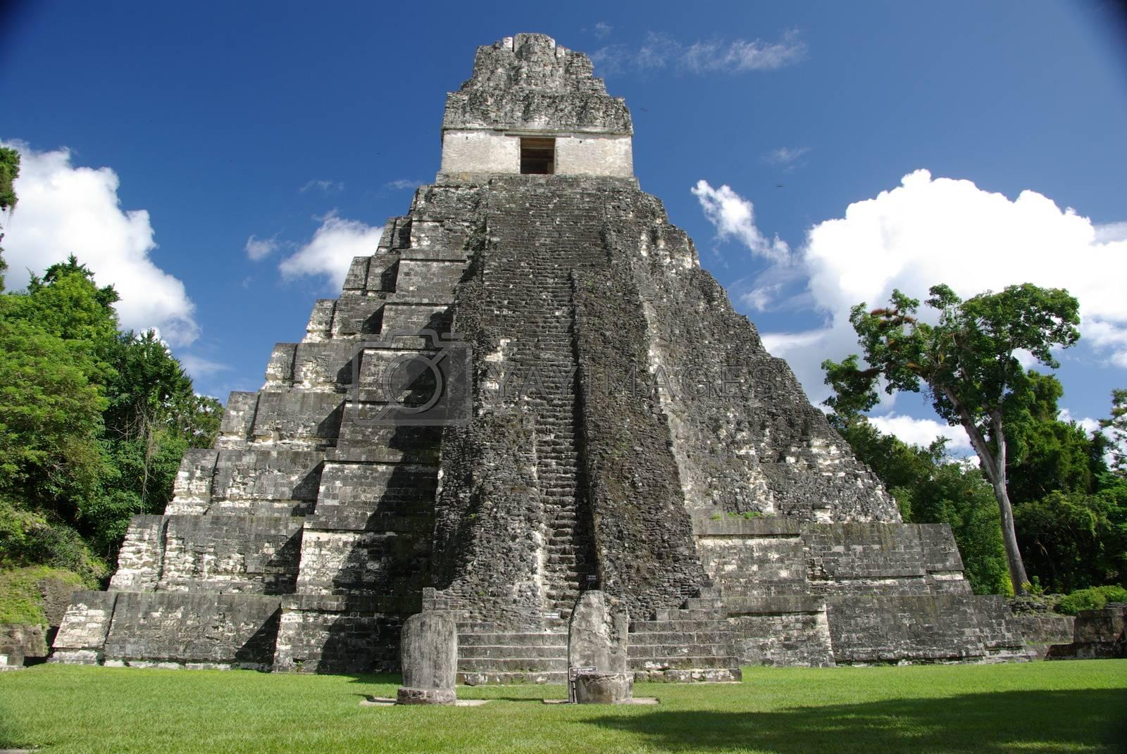 Royalty free image of Mayan ruins in Guatemala by pascalou95