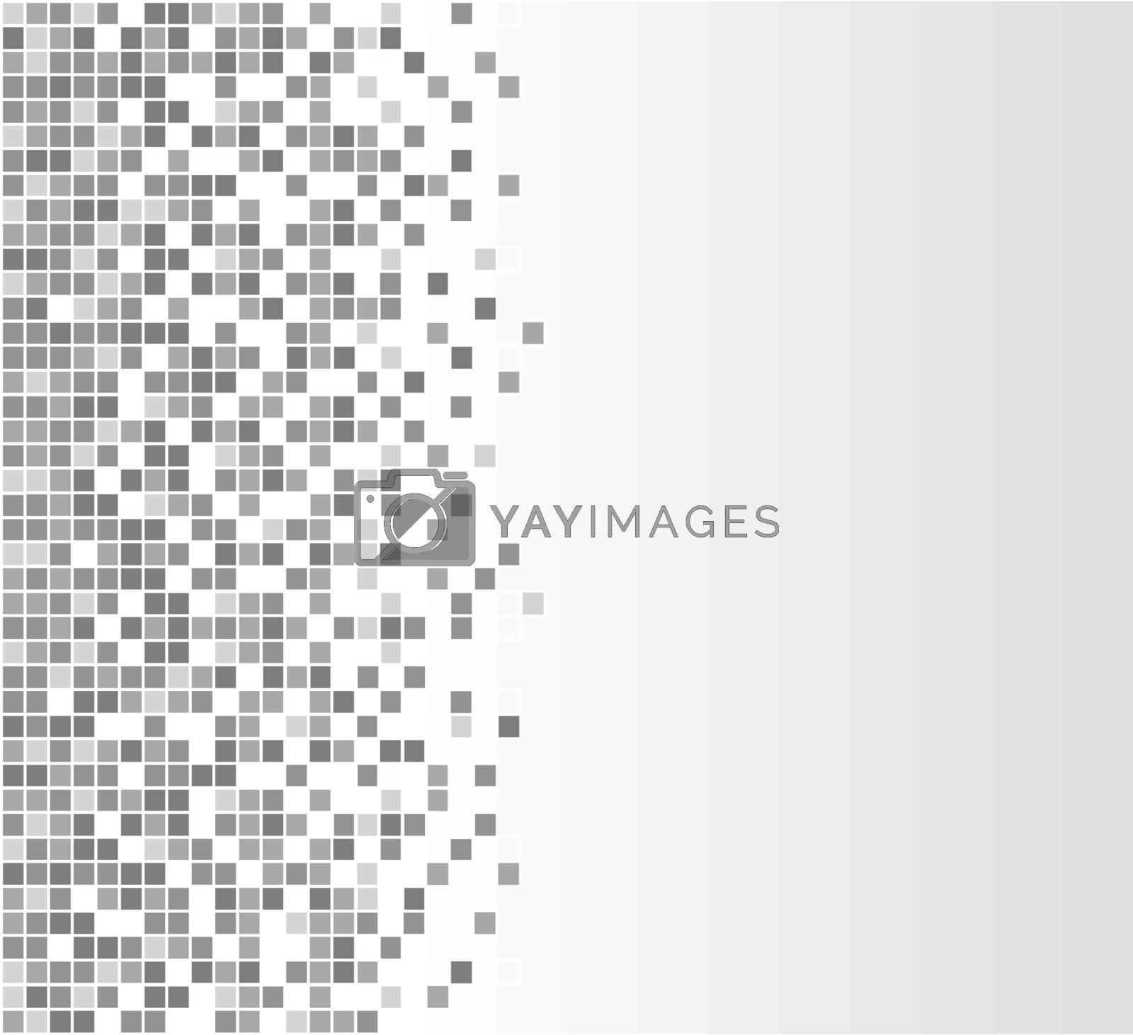 Royalty free image of gray pixels background by nickylarson974