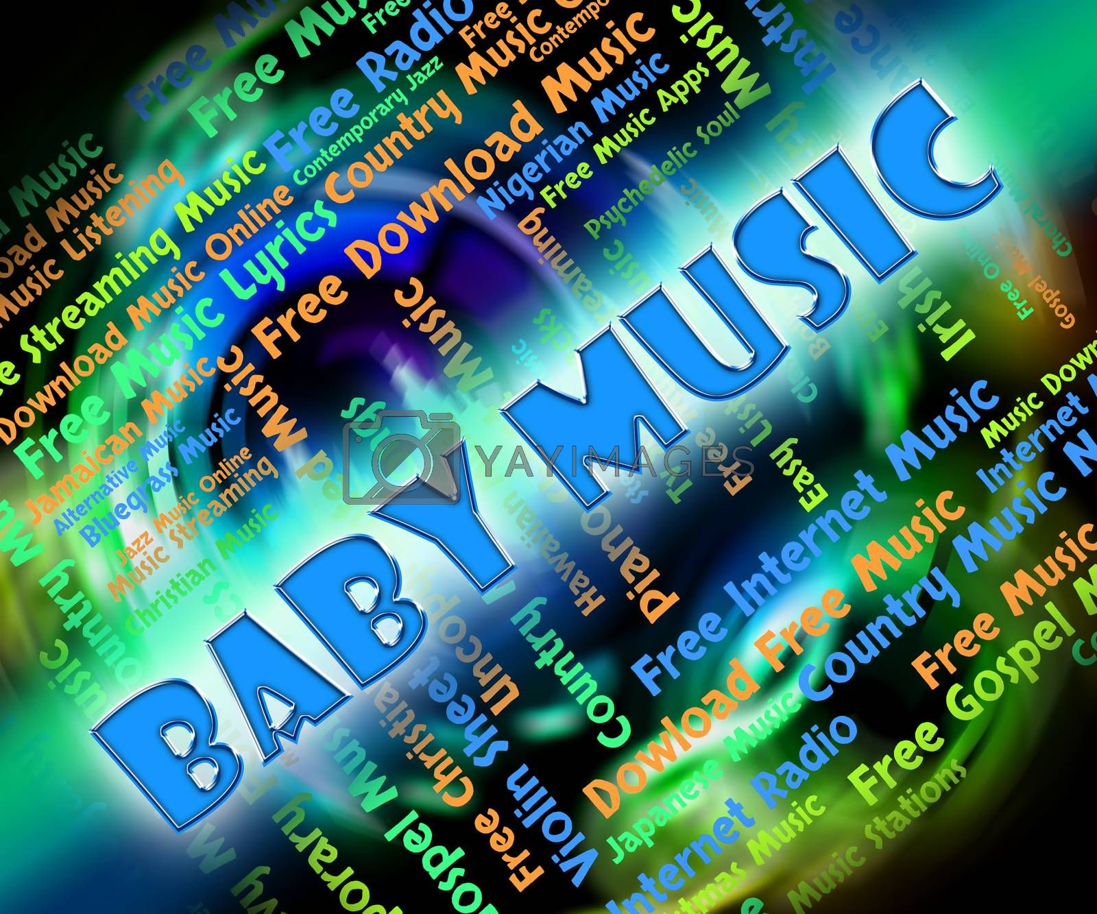 Baby Music Meaning Youngster Born And Acoustic