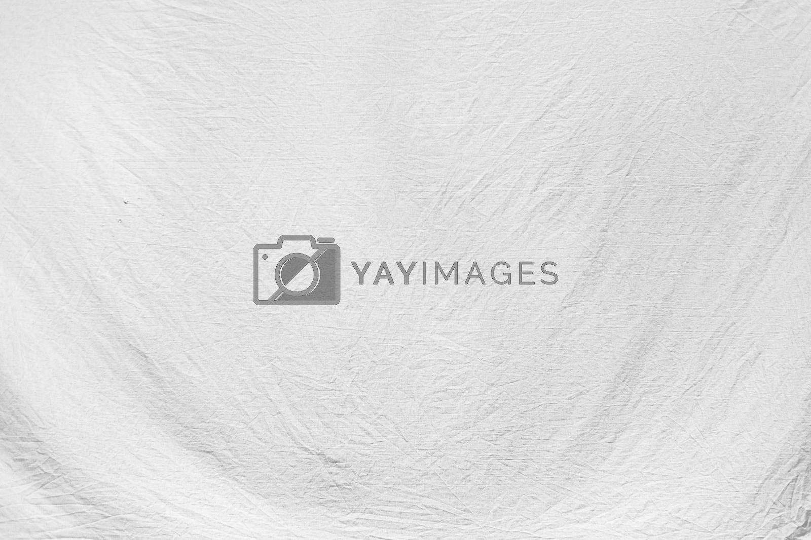 The High resolution white canvas texture. Fabric