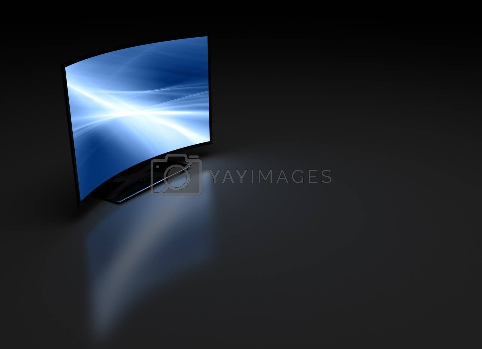 Curve TV on Dark