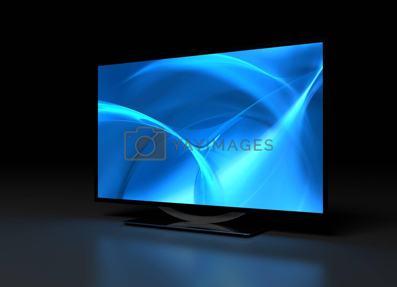 UHD TV on Dark