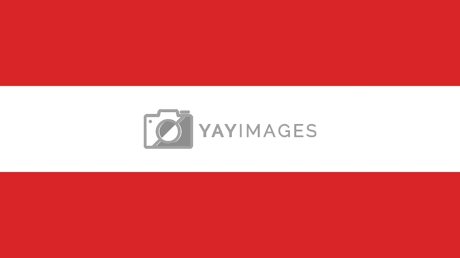 austria Flag for Independence Day and infographic Vector illustration.