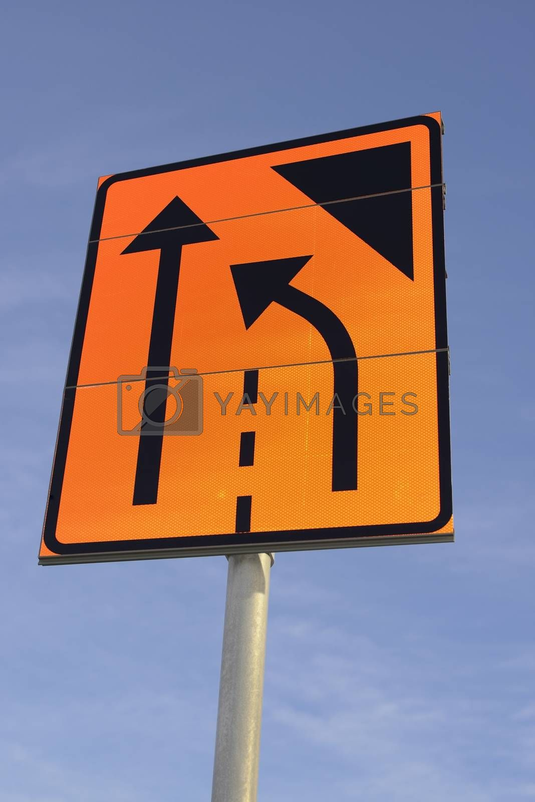 Road sign, two files that go together to a file
