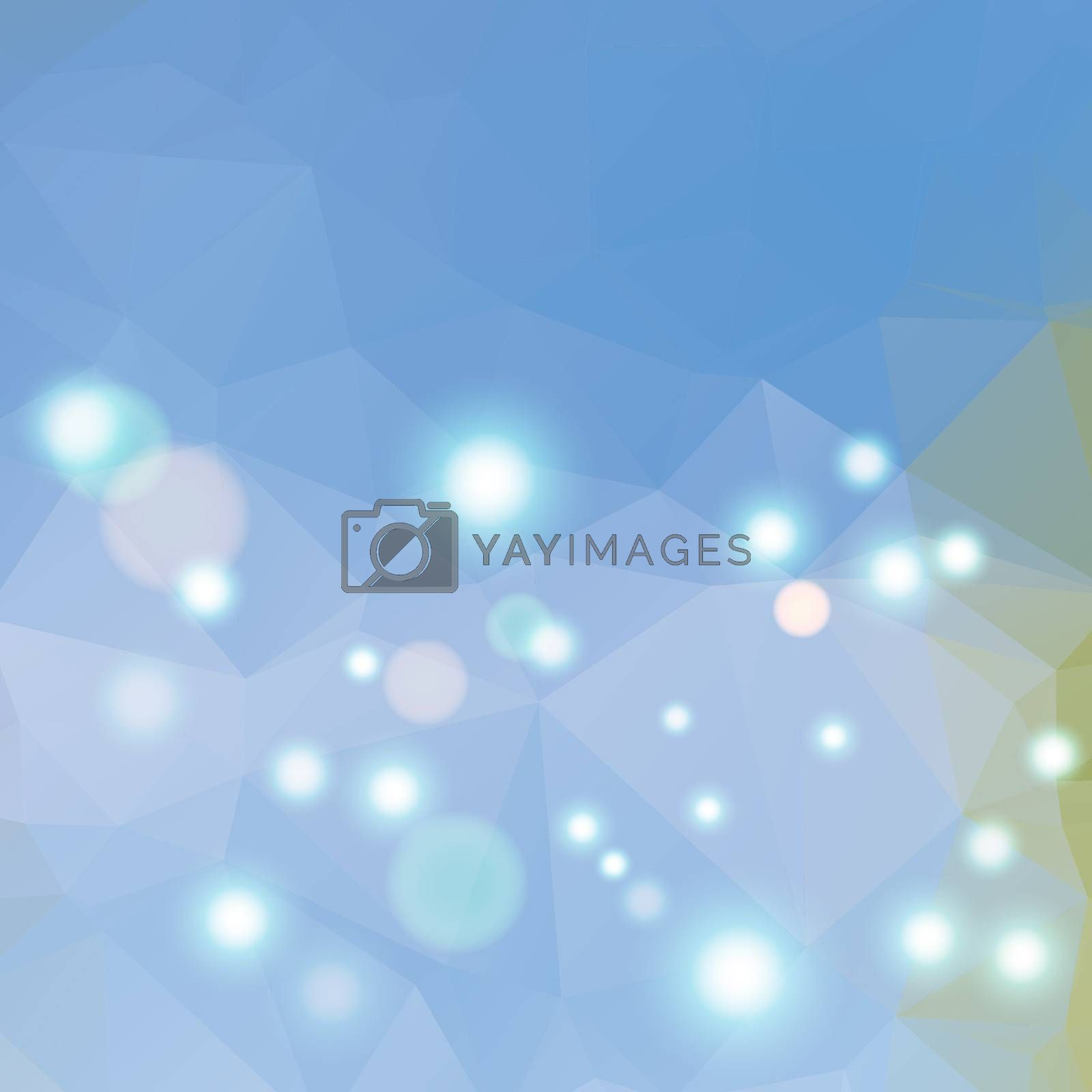 Polygonal abstract geometry background. Vector polygon texture