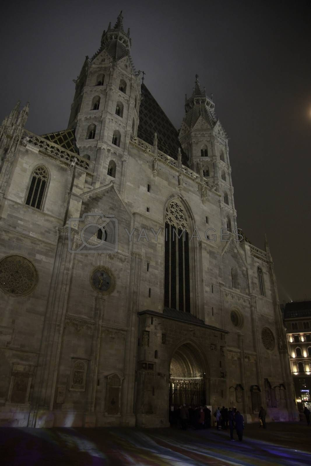 Saint Stephan Cathedral In Vienna autumn travel