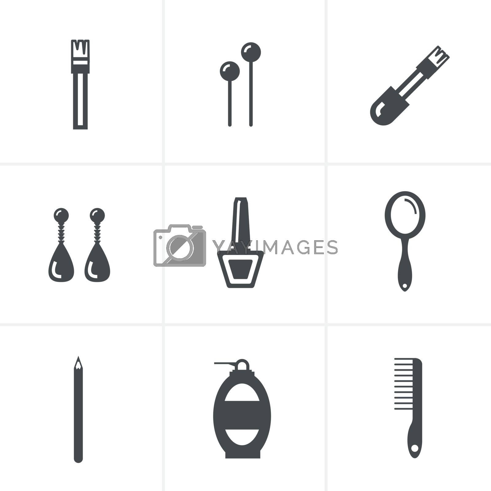 Elegant Fashion Icons Set