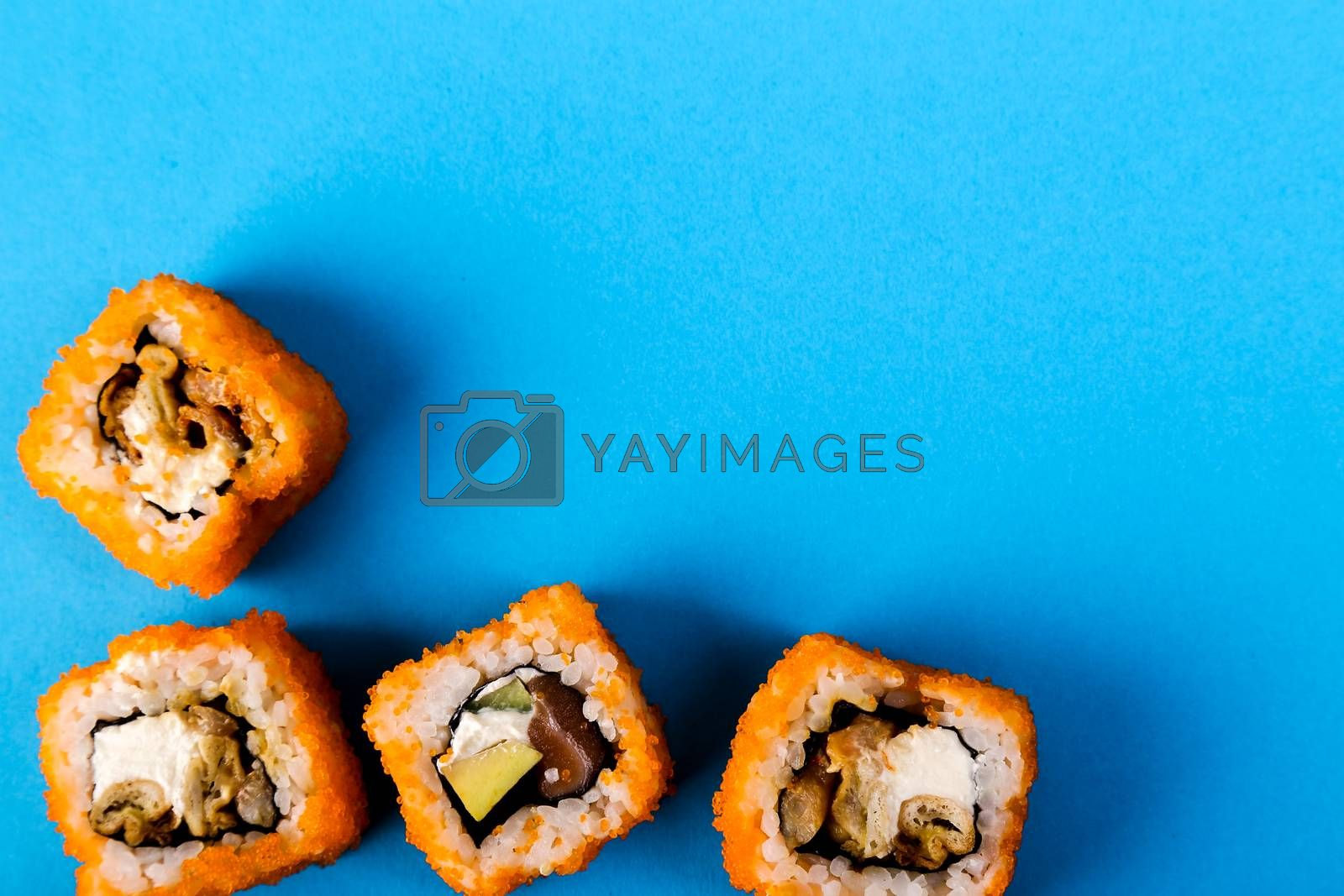Delicious sushi by rufatjumali