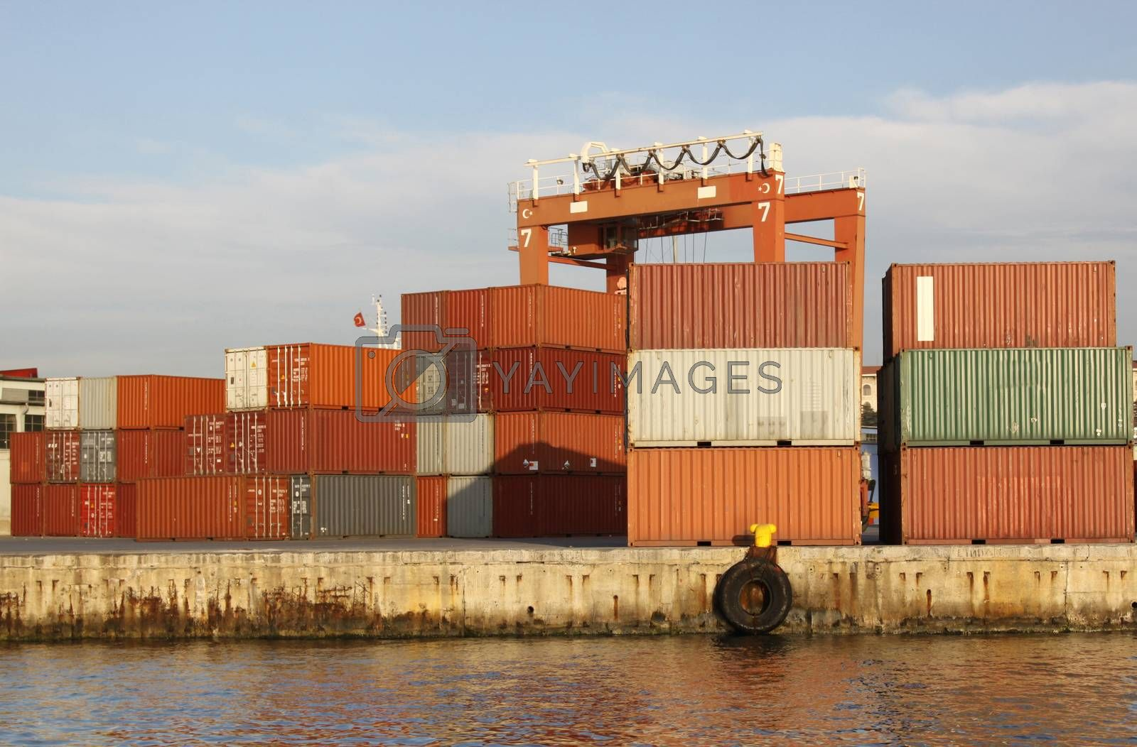 Royalty free image of Containers by EvrenKalinbacak