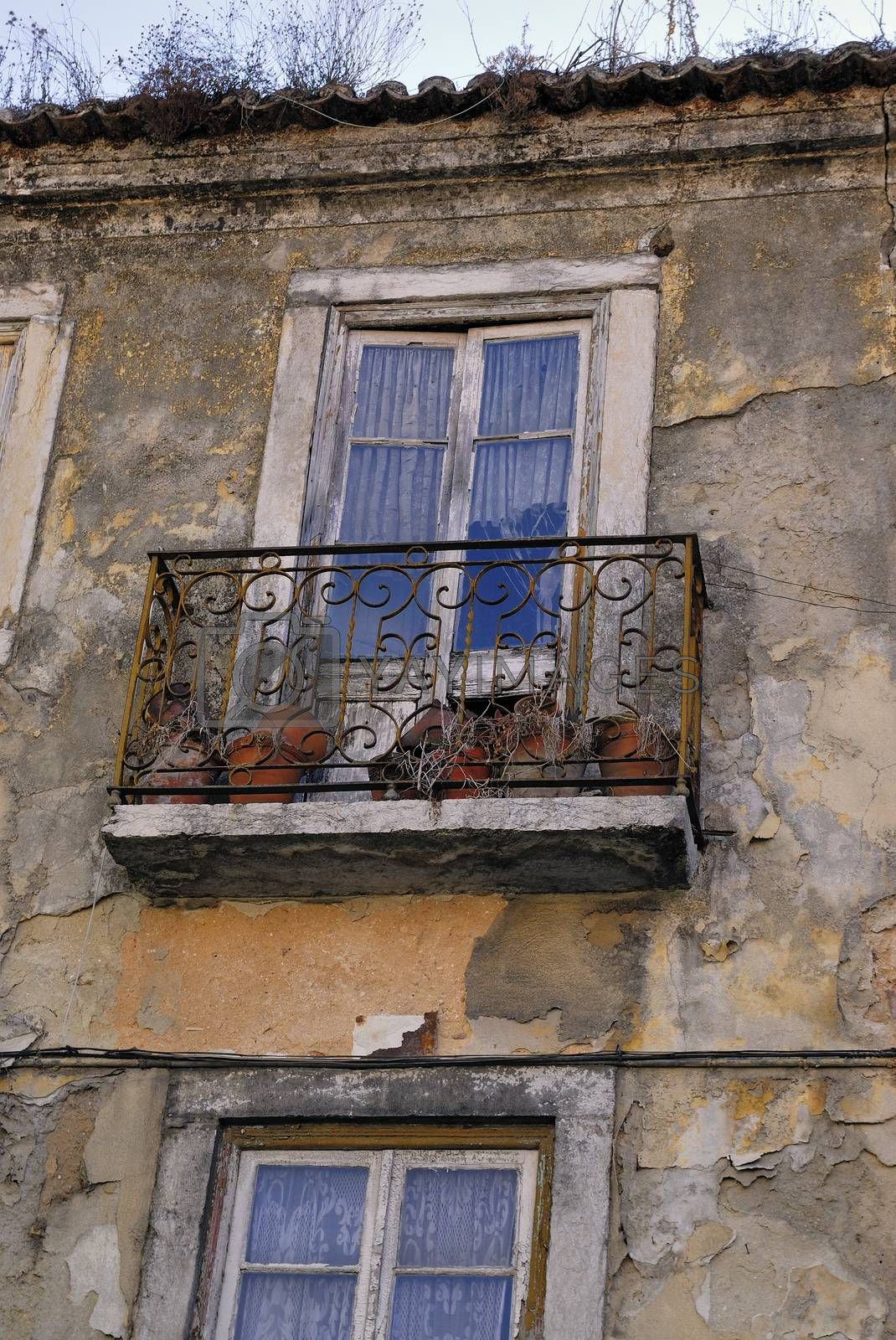 Apartment house in old town of Lisbon