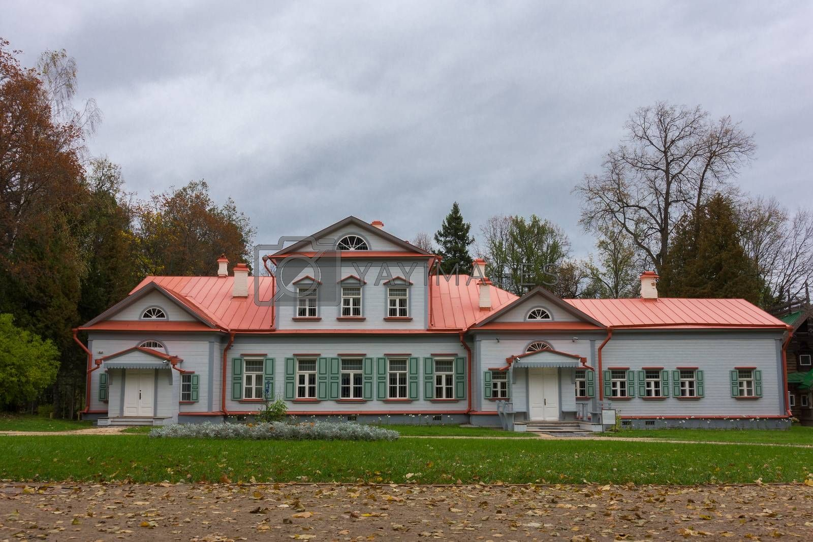 Pictured Reserve Abramtsevo house is located in the reserve.