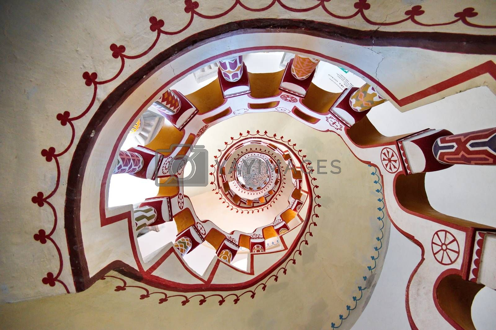 Royalty free image of Spiral staircase by anderm