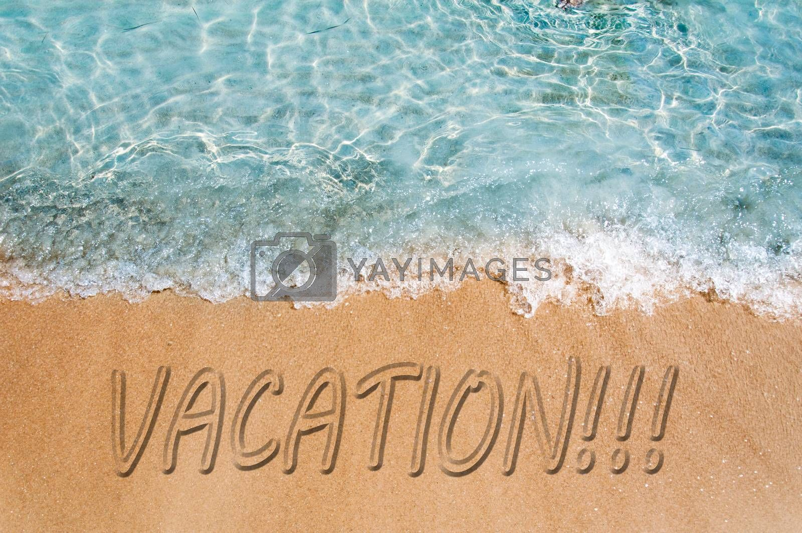 Vacation concept by badmanproduction