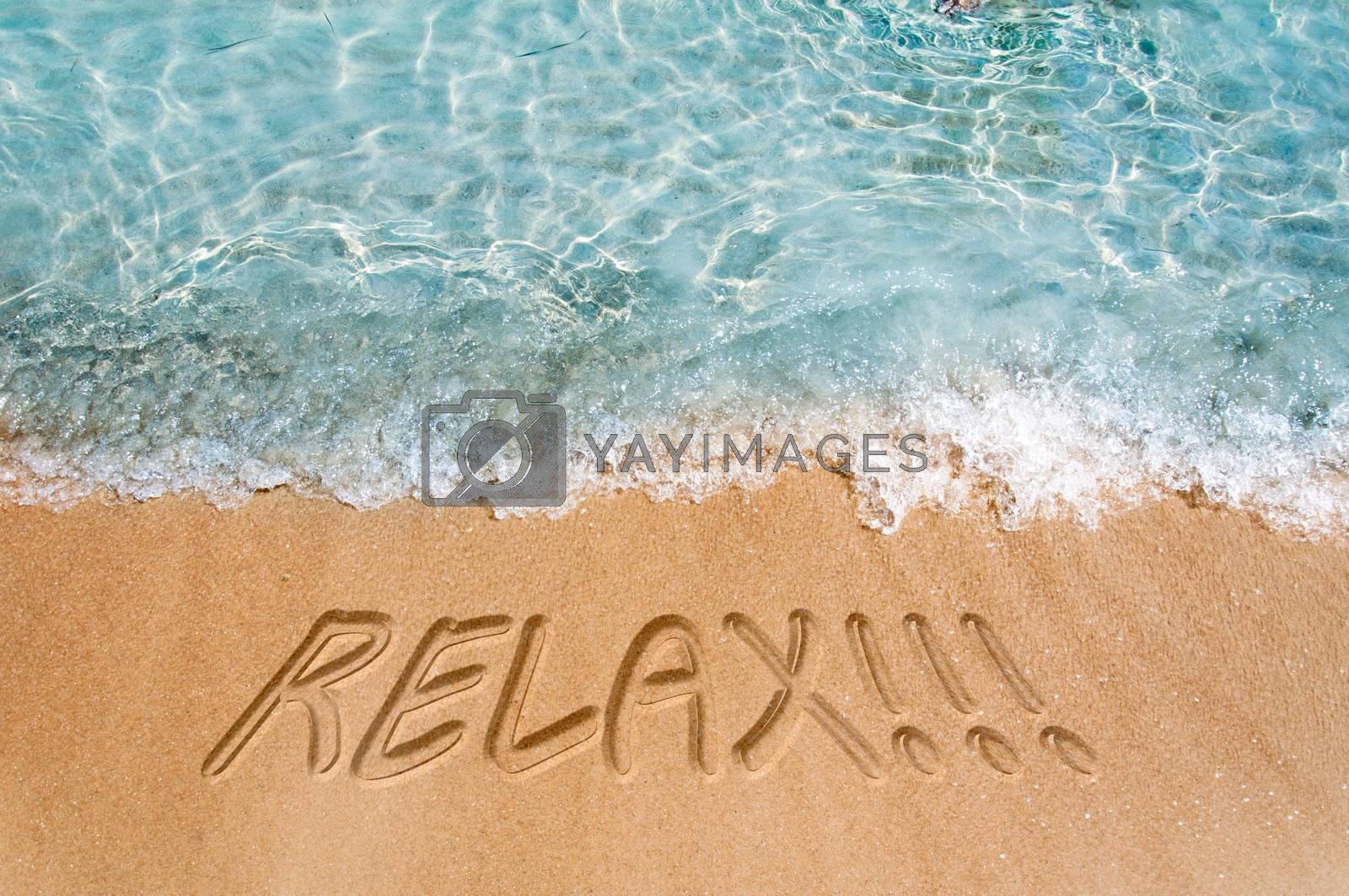 Relax concept by badmanproduction