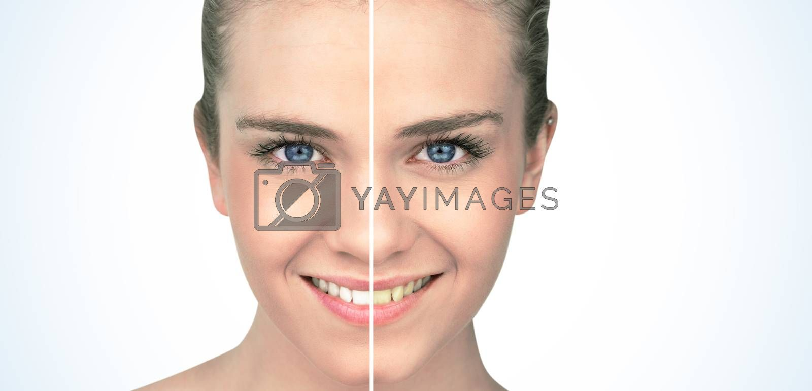 Smiling blonde natural beauty by Wavebreakmedia