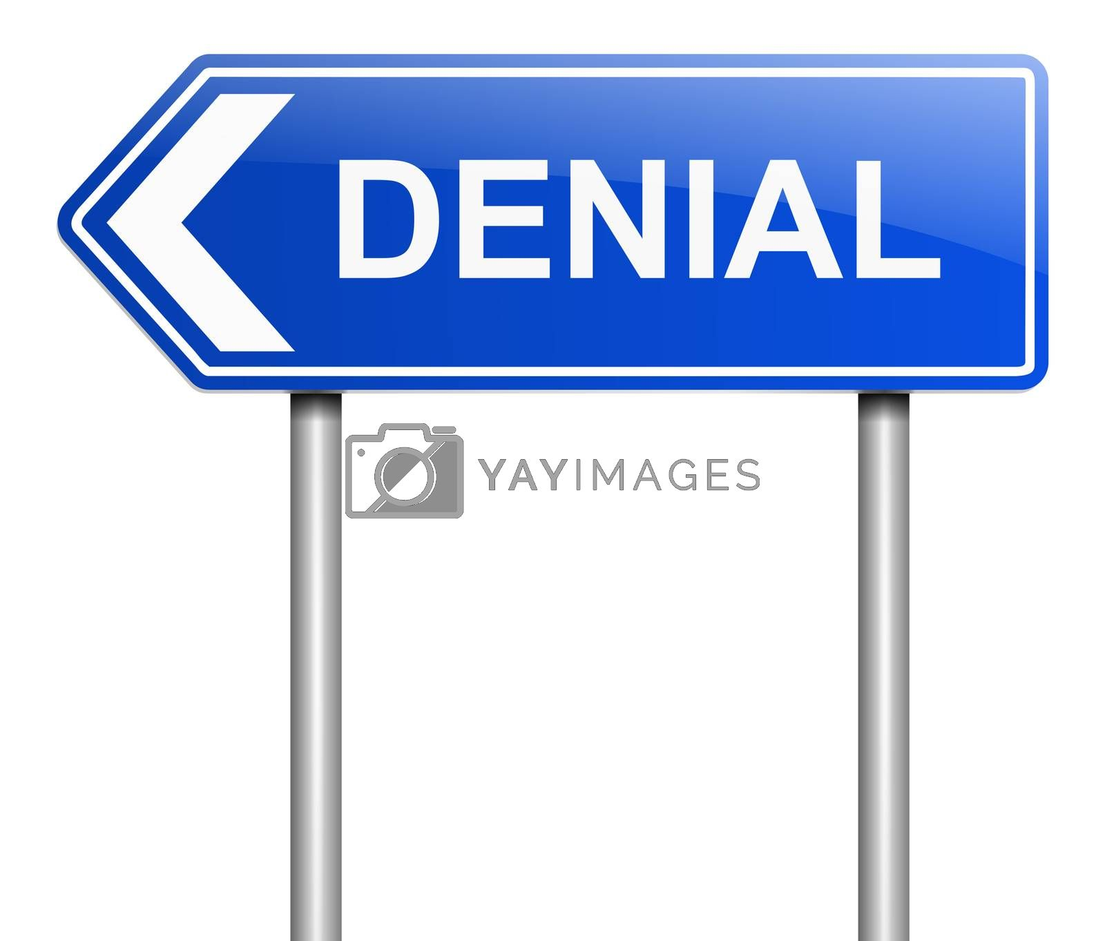 Denial concept. by 72soul