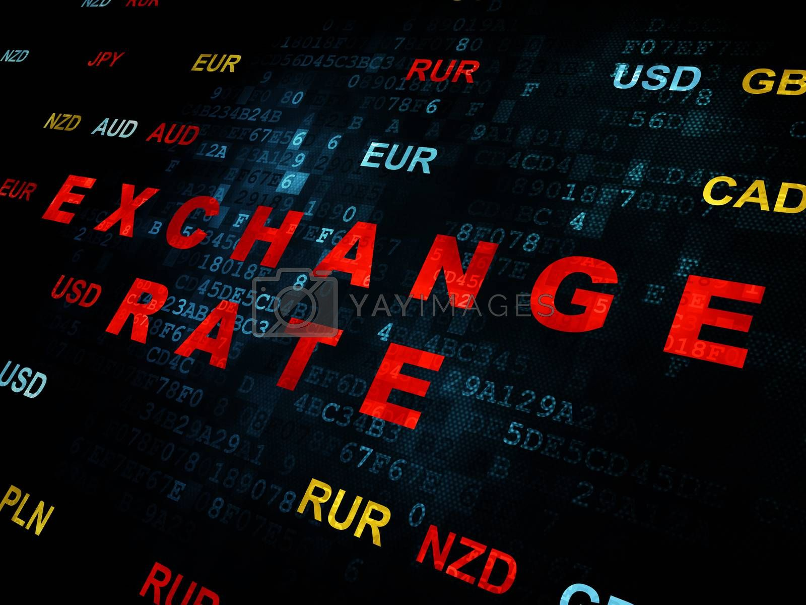 Currency concept: Exchange Rate on Digital background by maxkabakov