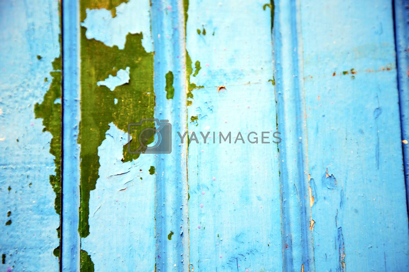 blue hinges      rusty      morocco in africa green by lkpro