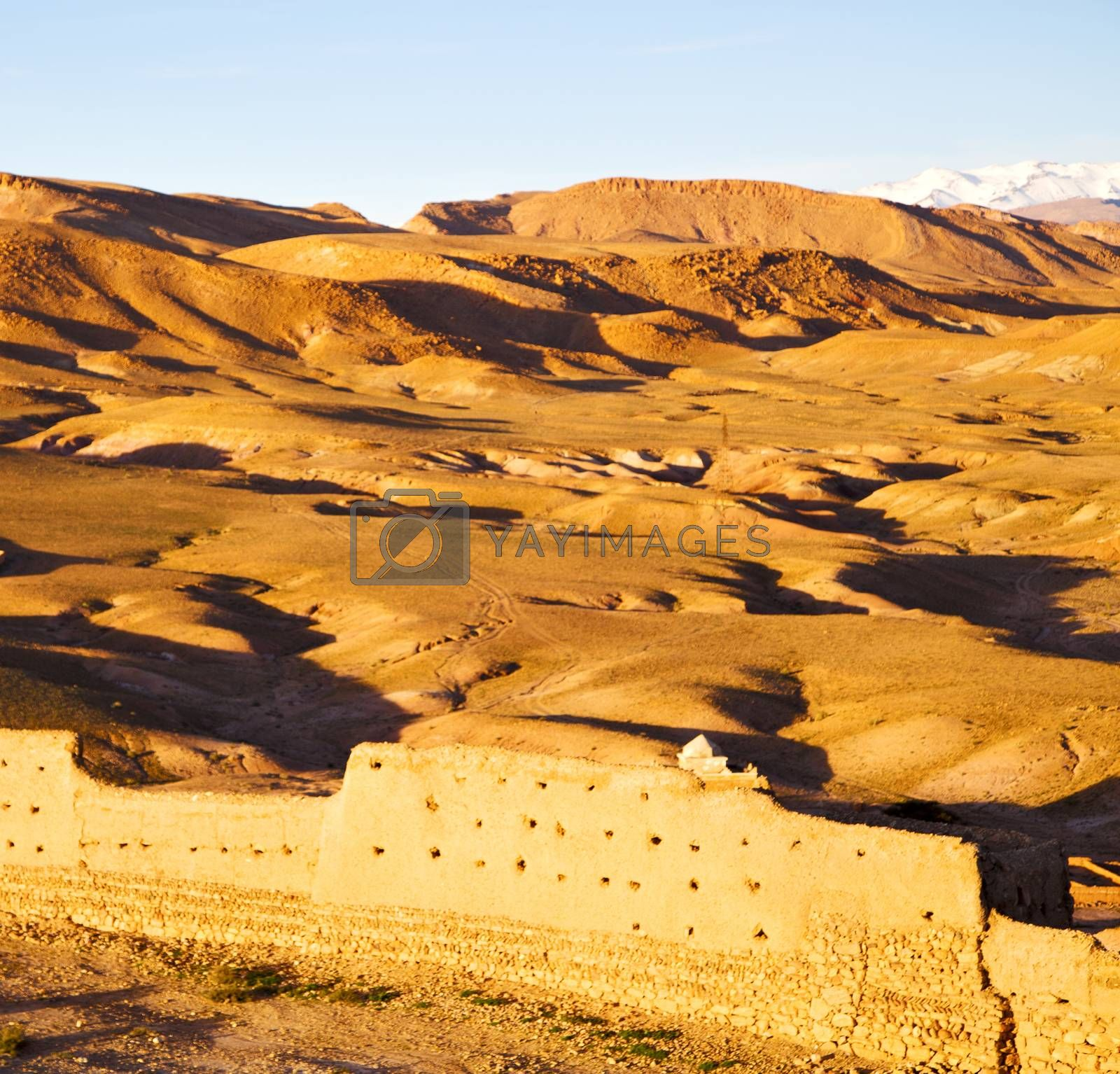 hill africa in morocco the old contruction   and   historical vi by lkpro