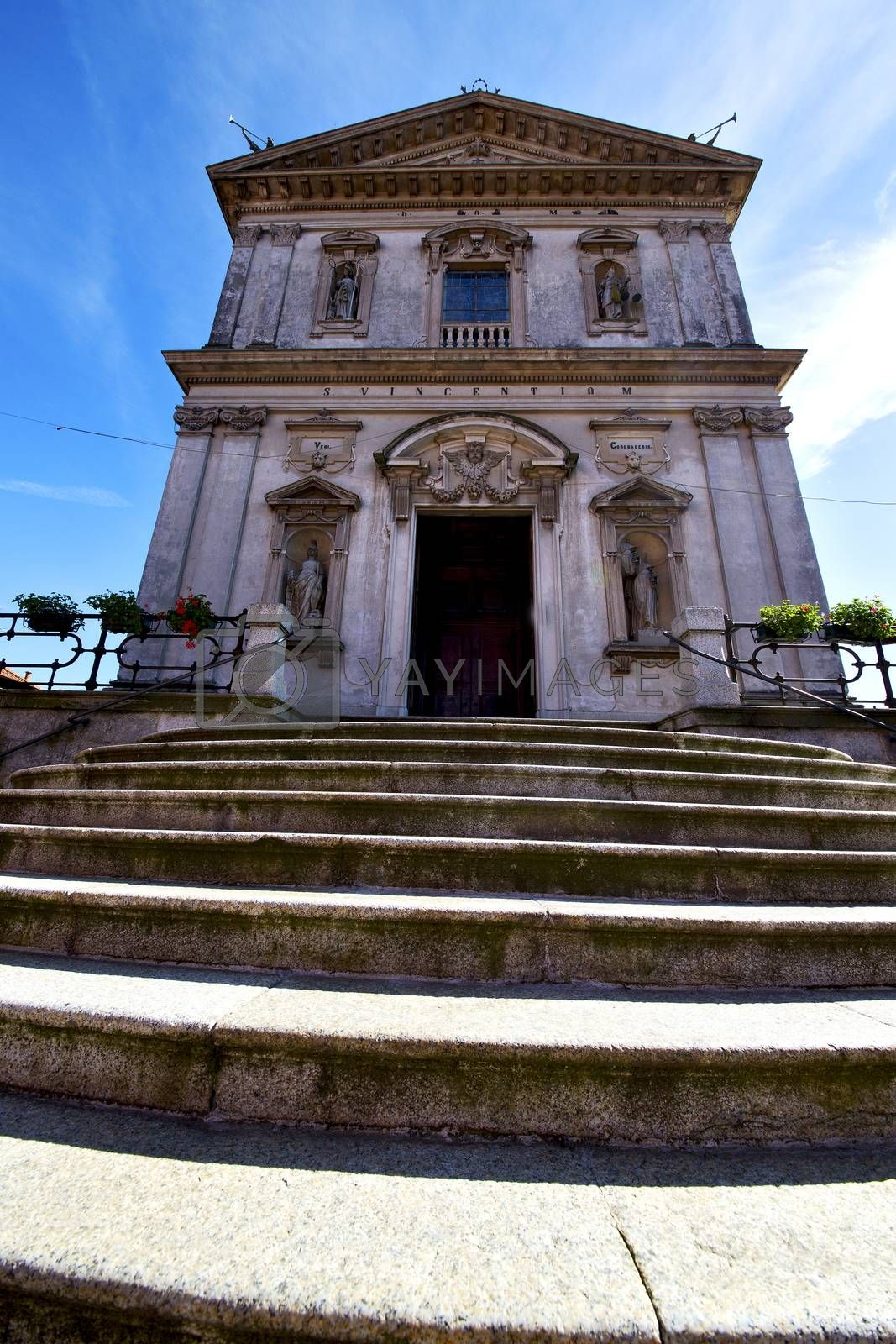 italy  lombardy     in  the caronno varesino  old   church  clo by lkpro