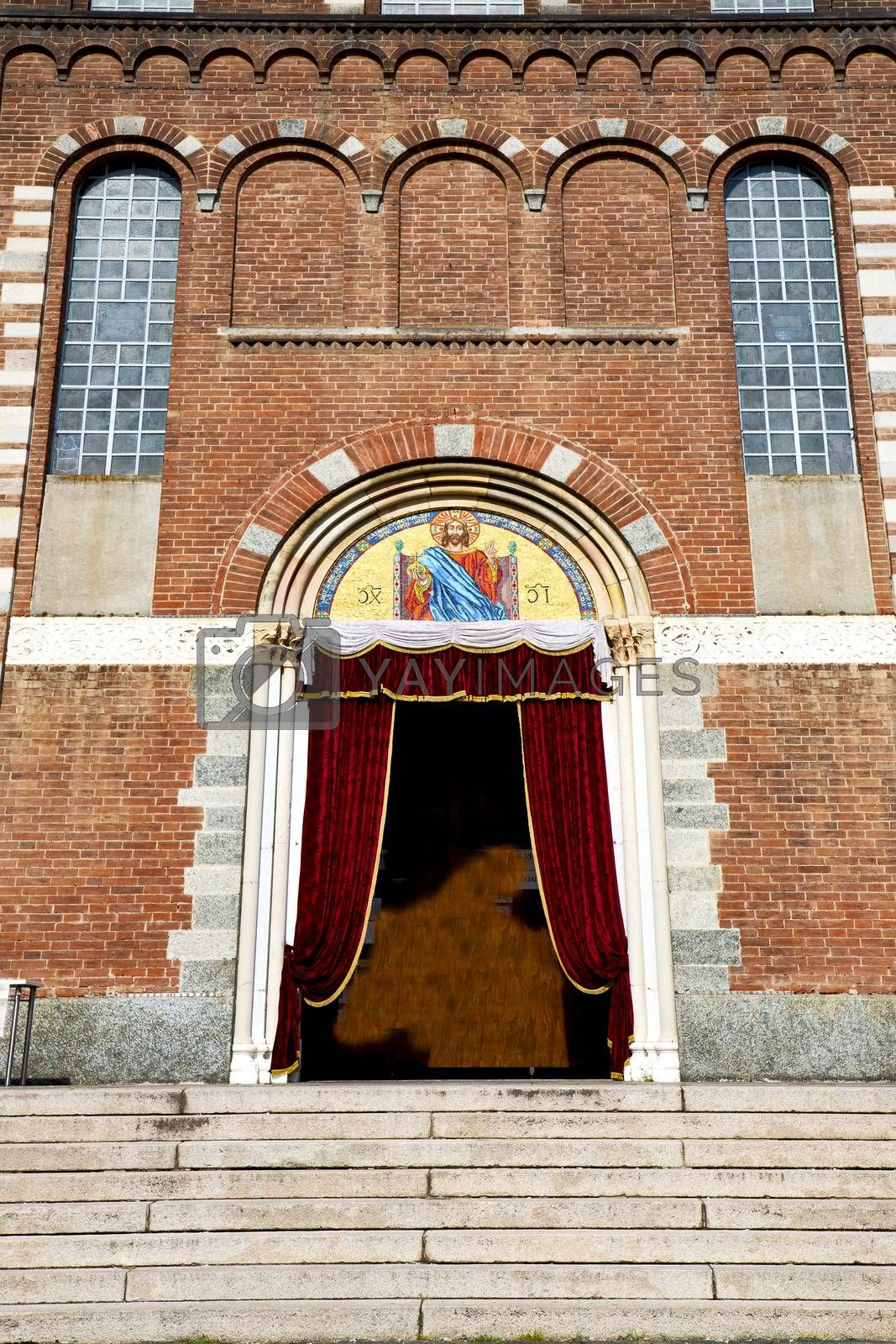italy  lombardy     the legnano old   church  closed brick   by lkpro