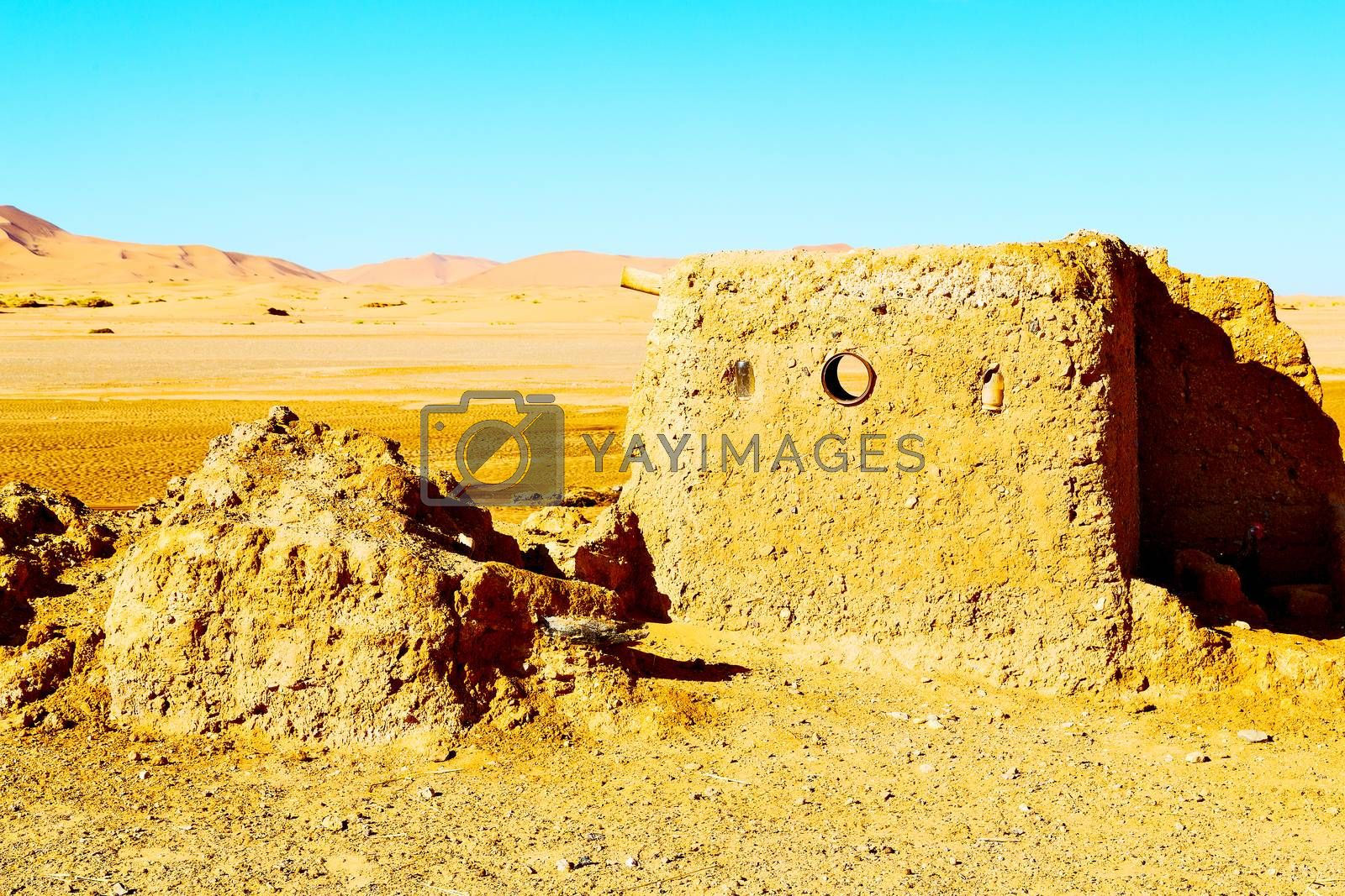 sahara      africa in morocco  old    historical village  by lkpro