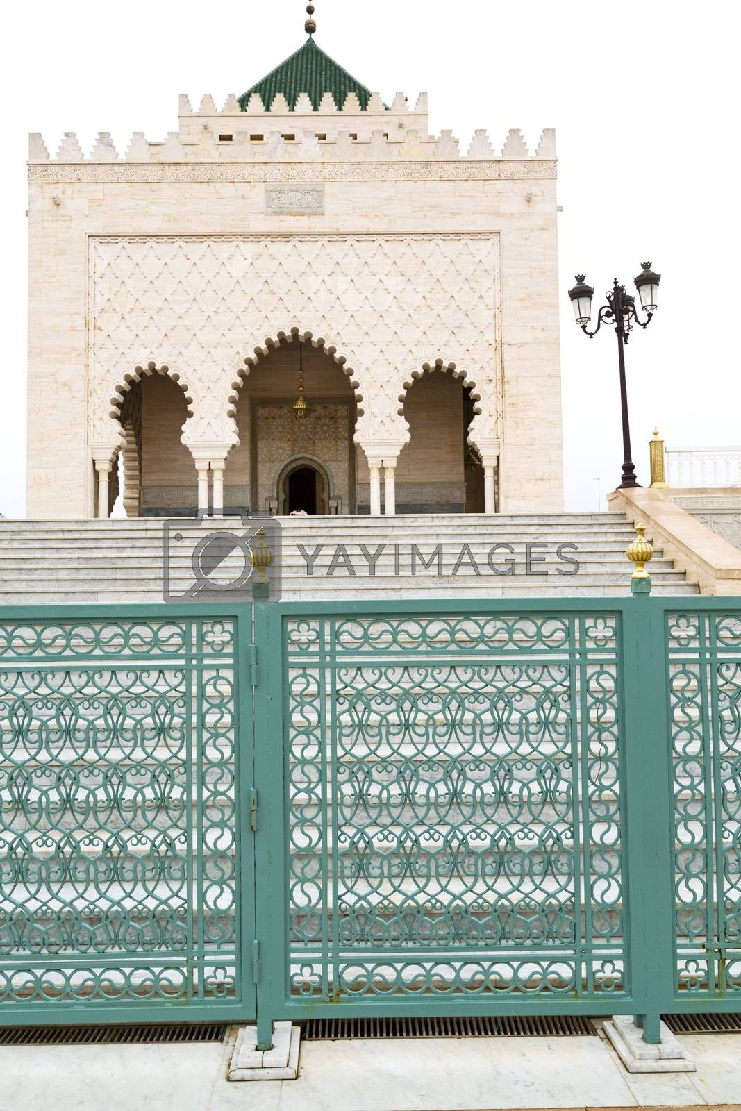 the   chellah  in morocco africa  step  monument and site by lkpro