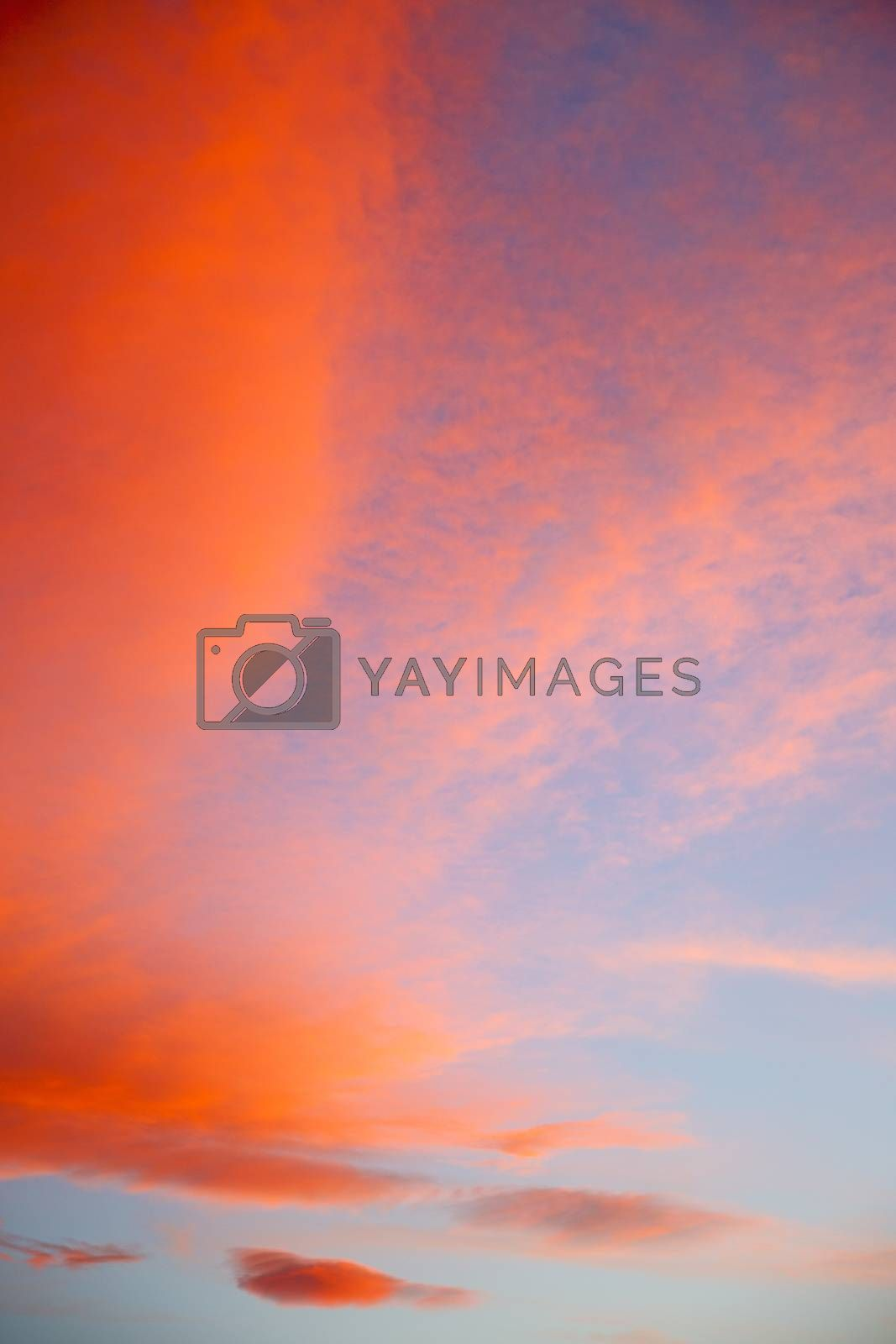 in the colored   clouds and abstract background by lkpro