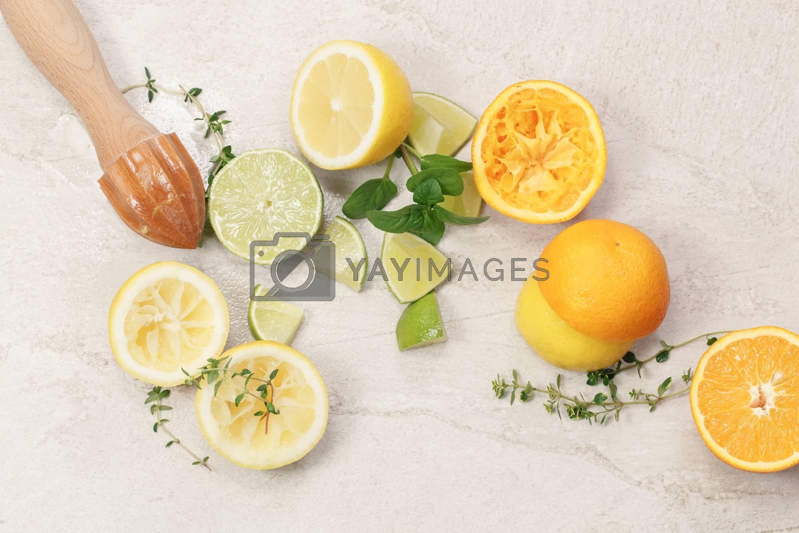 Citrus fruits by Slast20