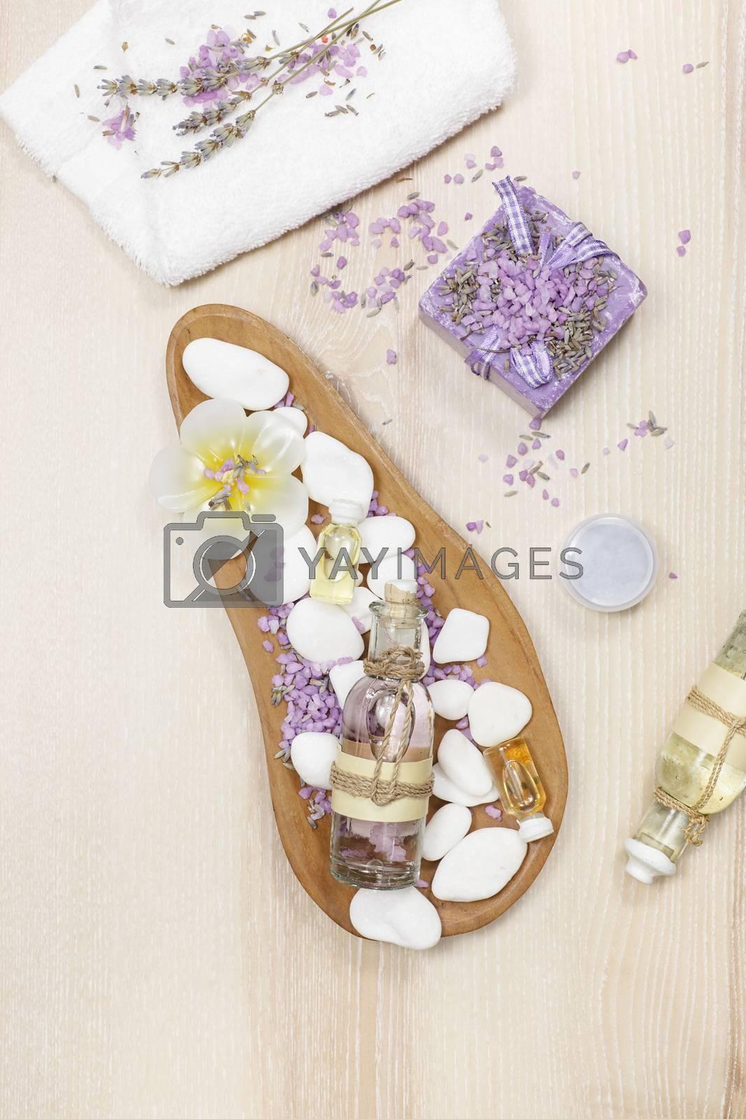 Lavender spa set by Slast20